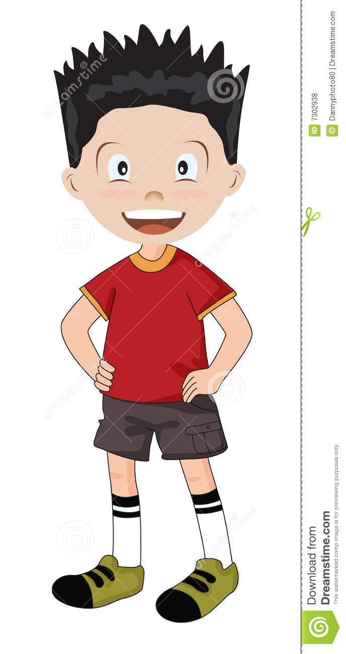 Boy In Summer Clothes Royalty Free Stock Photos - Image ...