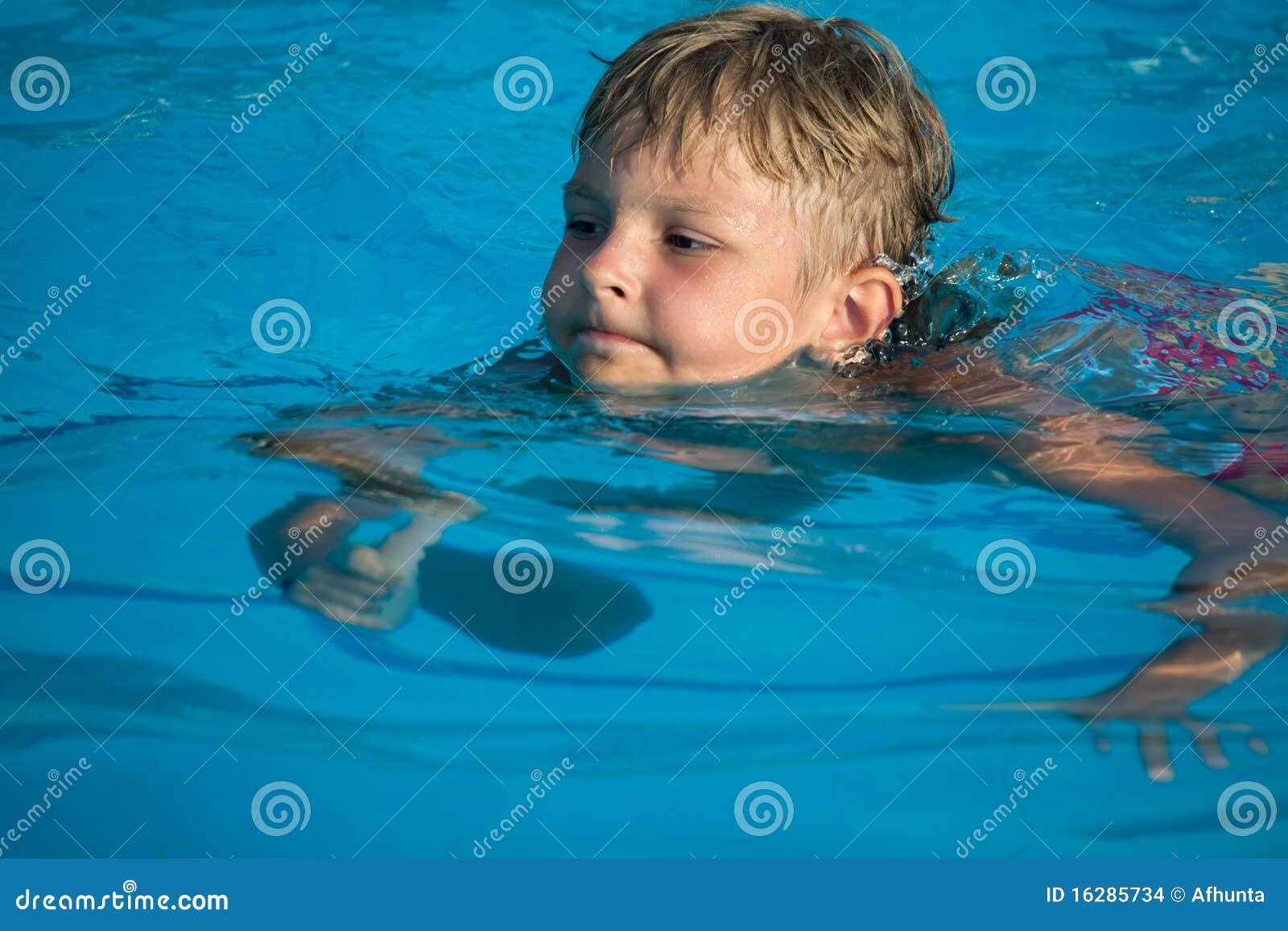 Boy Swimming Stock Images Image 16285734