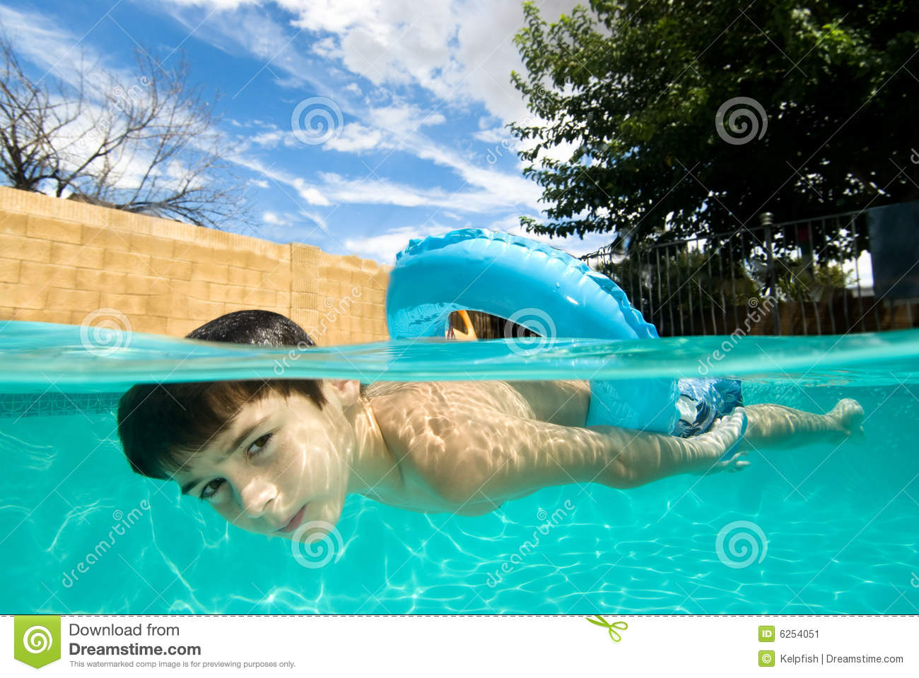 Swiming Pool Boy Images