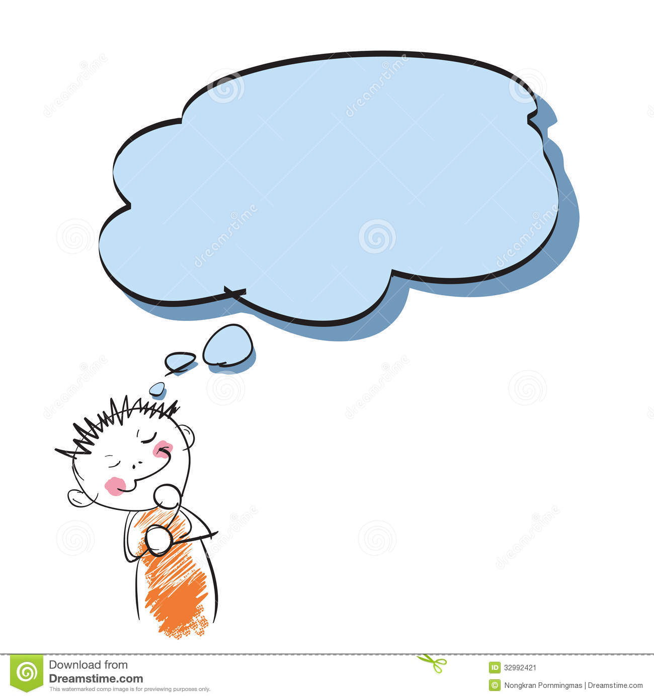 boy thinking stock vector image of icon  discussion free frog clip art different expressional free frog clip art downloads