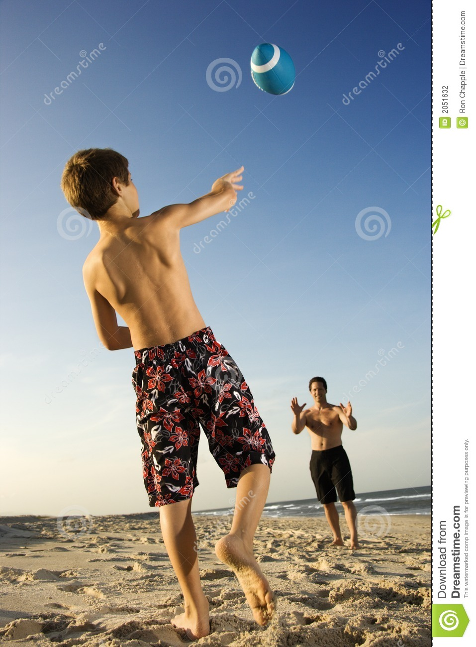 Boy Throwing Football Stock Photo Image Of Recreation -3946