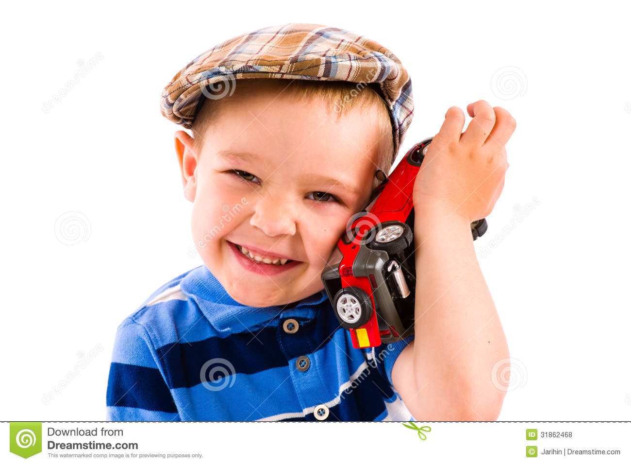 White Boys Toys : Boy and toy car stock photo image of child playing