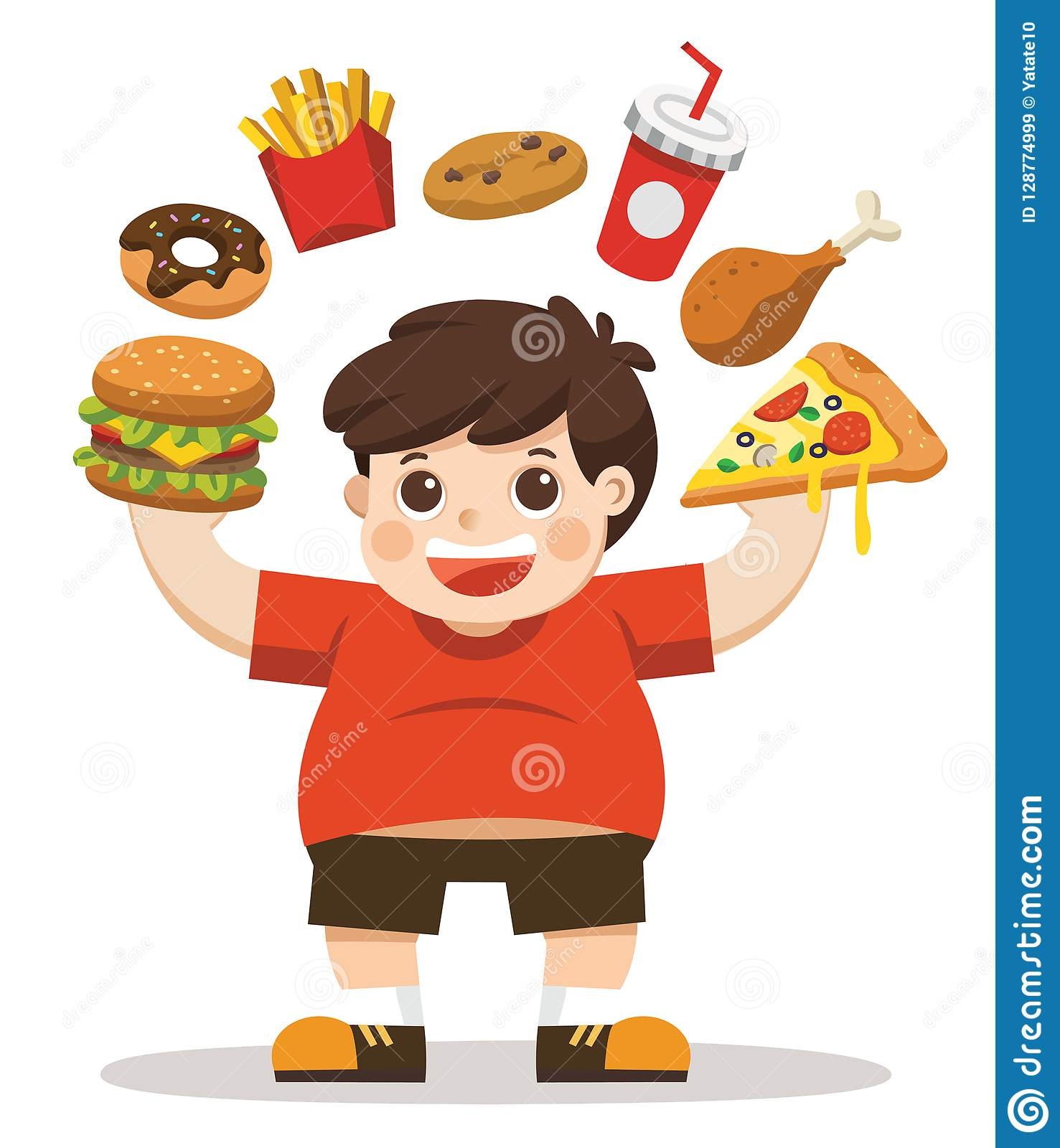 unhealthy cartoons illustrations amp vector stock images