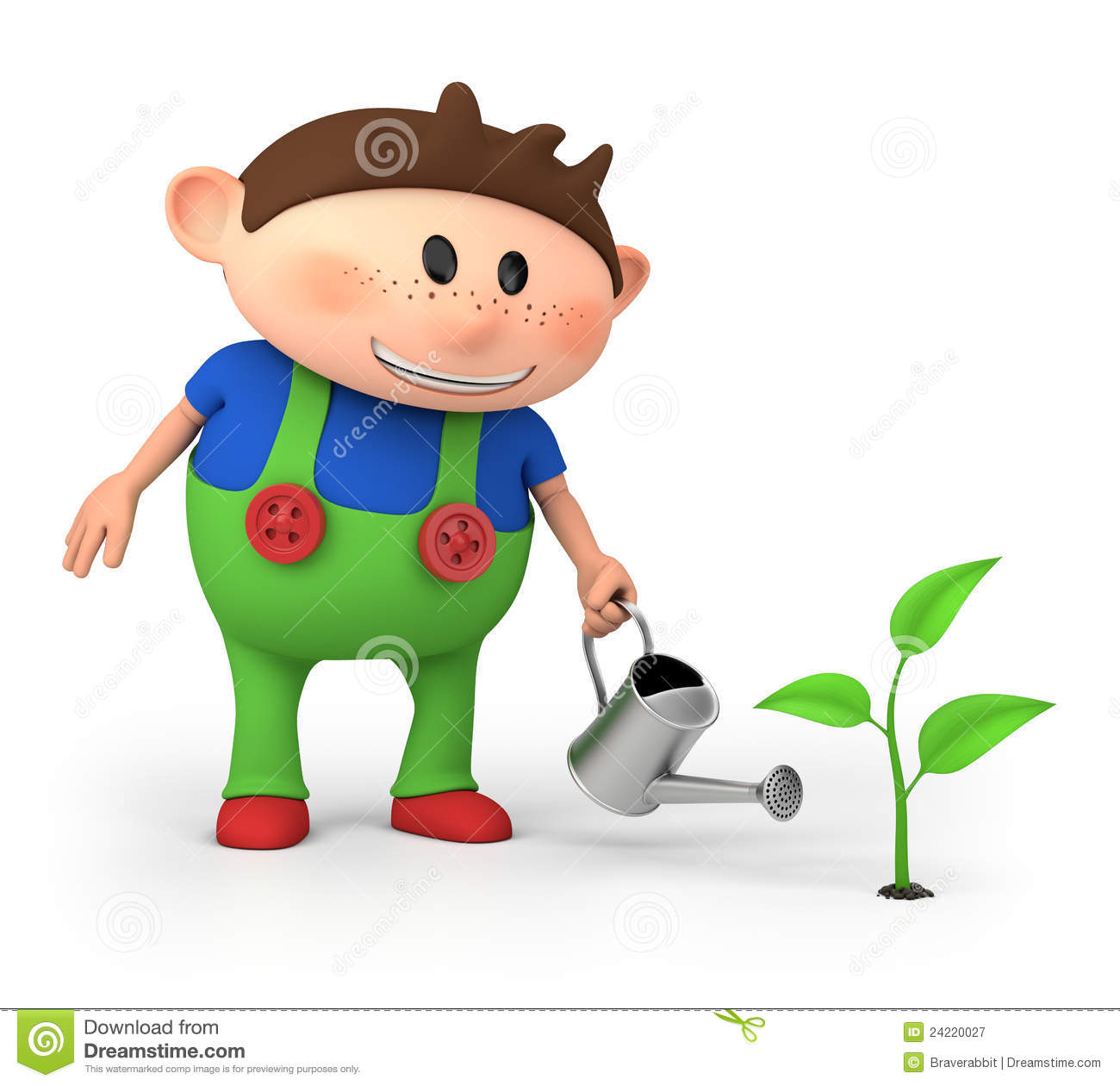 Boy watering sprout stock illustration. Illustration of ... (1300 x 1260 Pixel)