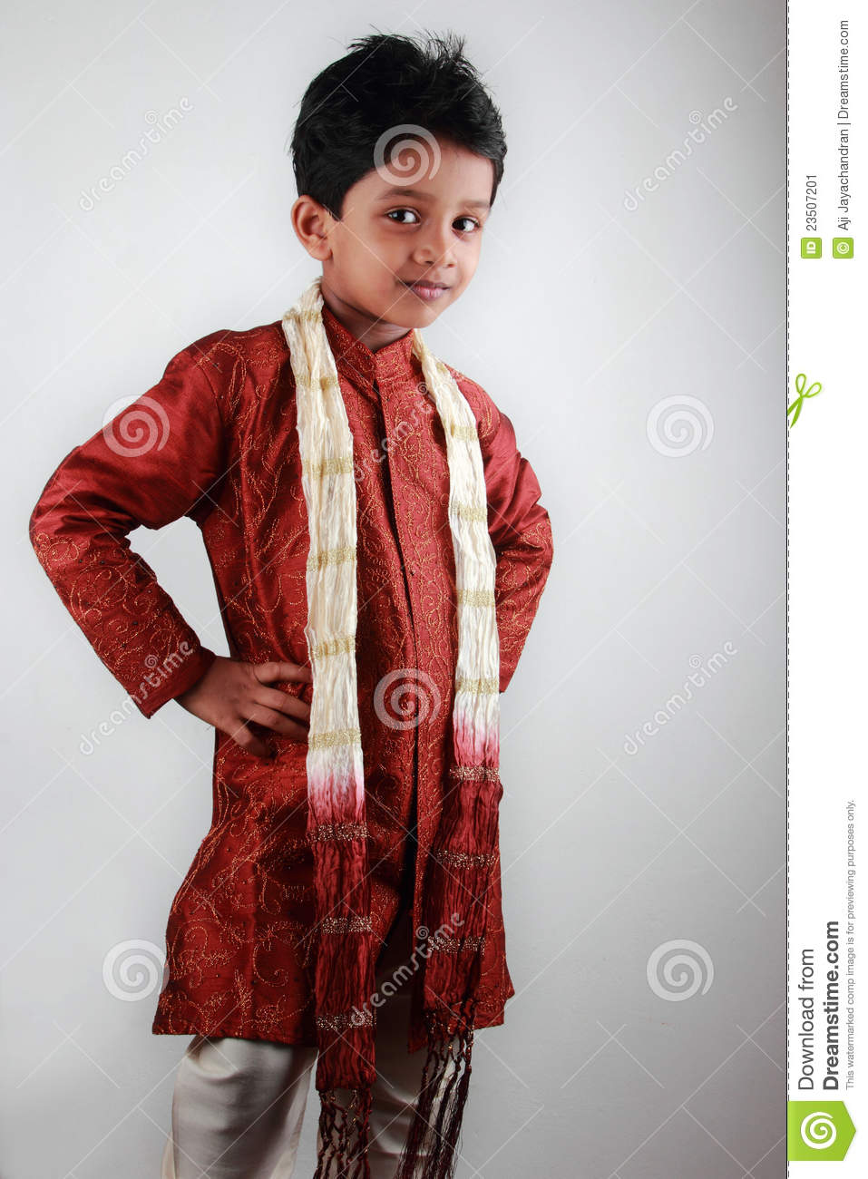 Boy Wearing Traditional Dress Stock Image Image Of Lovely Face 23507201