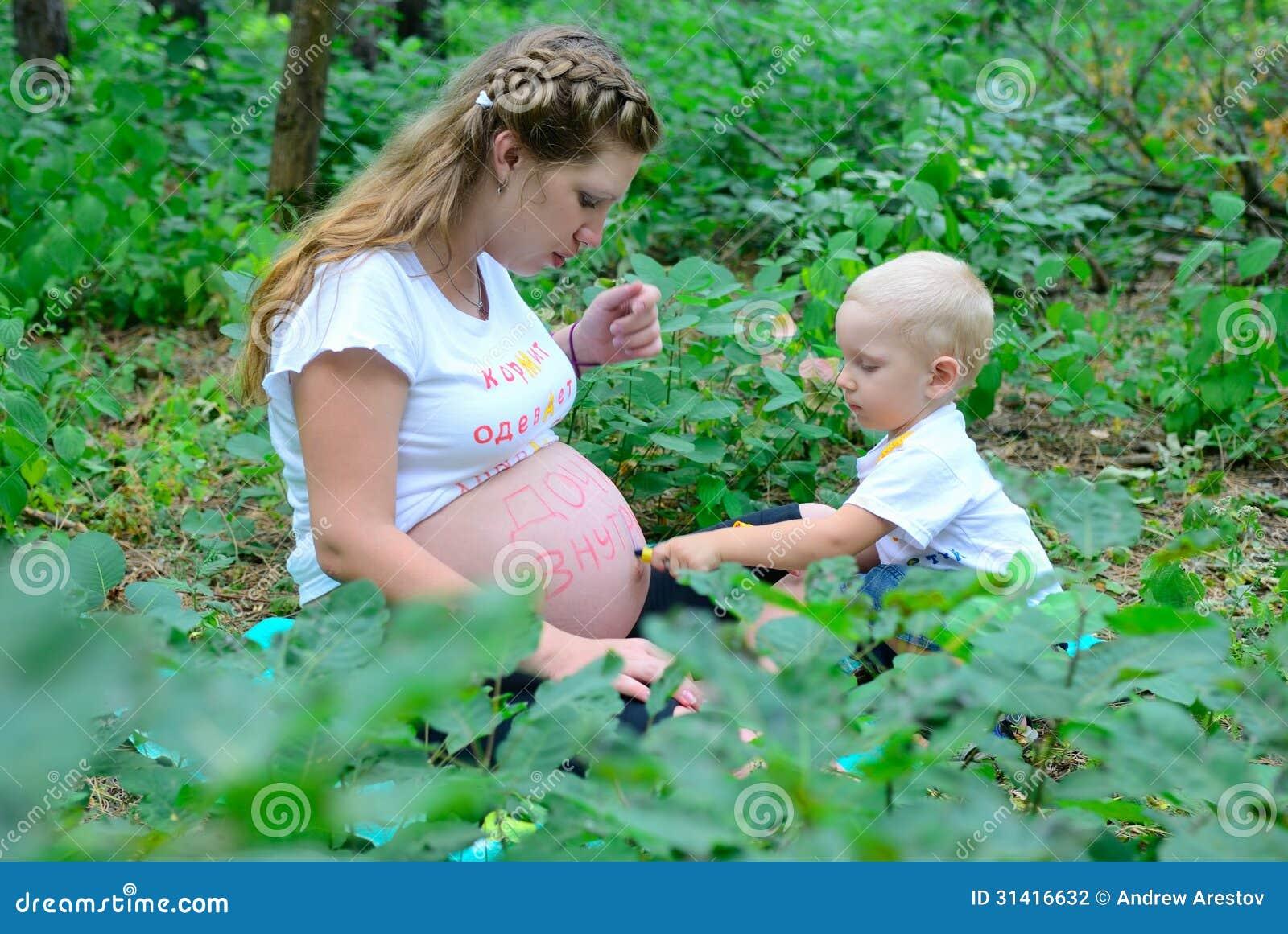 Как правильно беременная мальчик