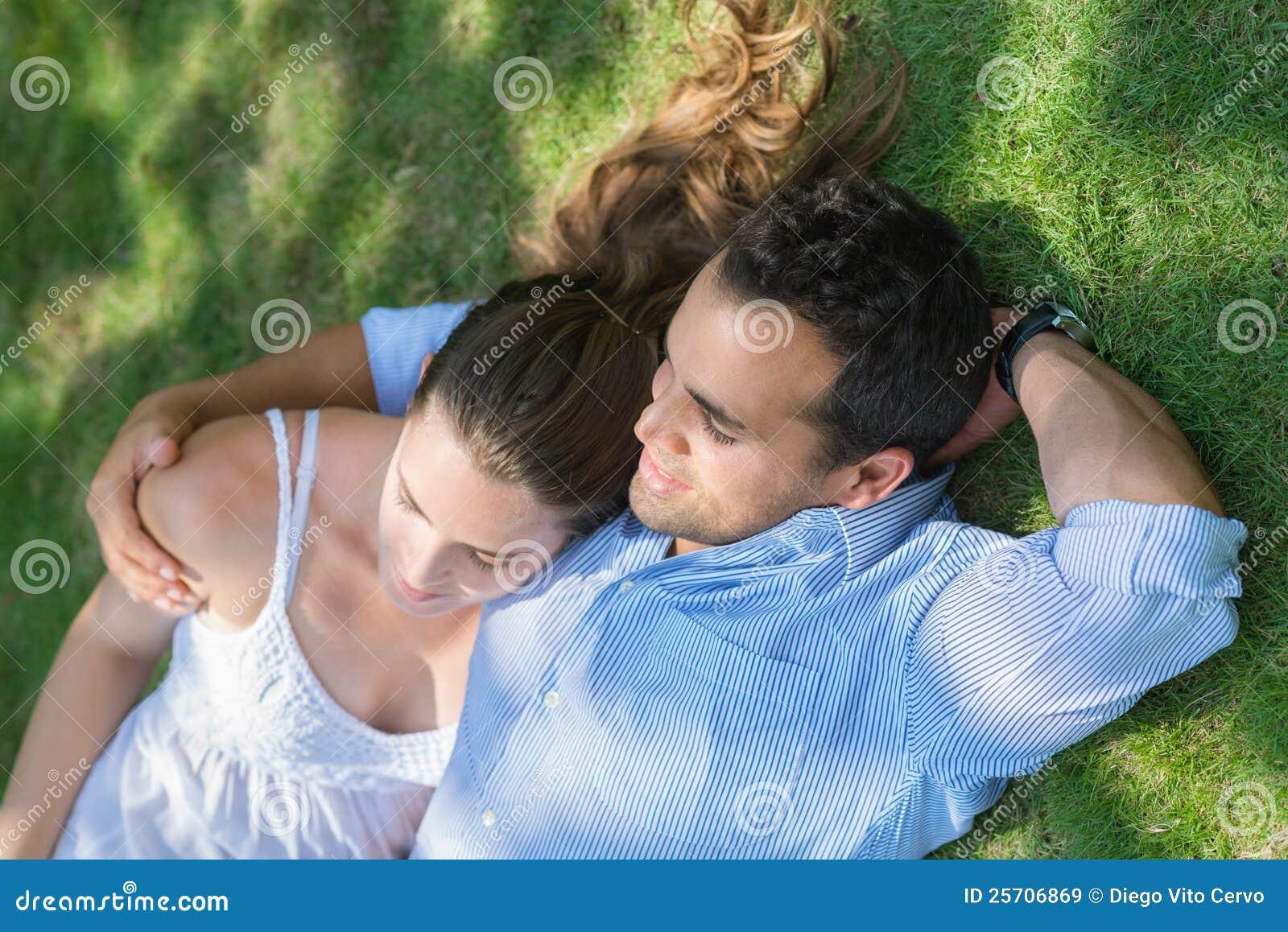 Boyfriend And Girlfriend In Love Hugging Stock Image ...