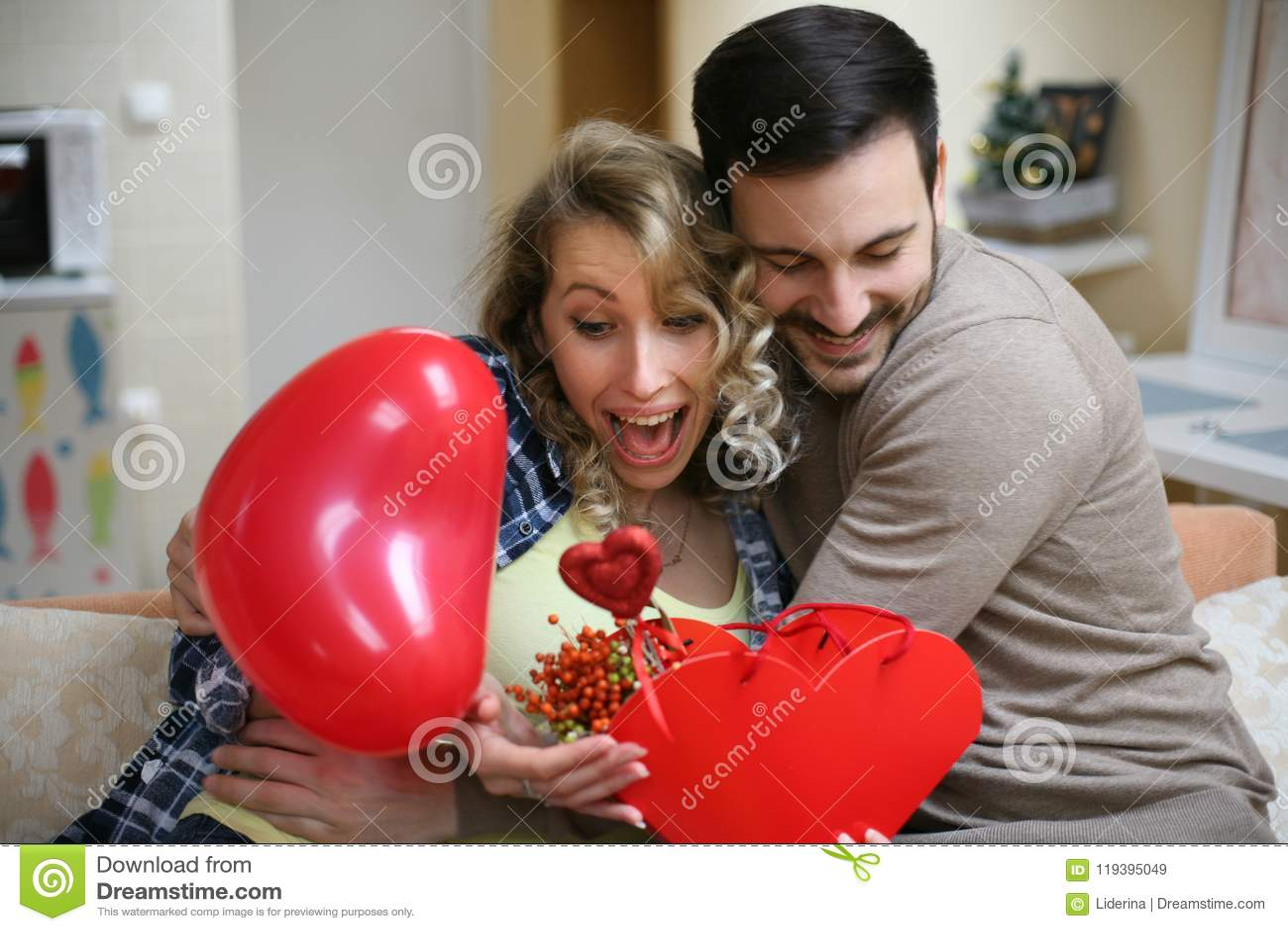 You Make My Life Beautiful Stock Image Image Of Flowers Balloon