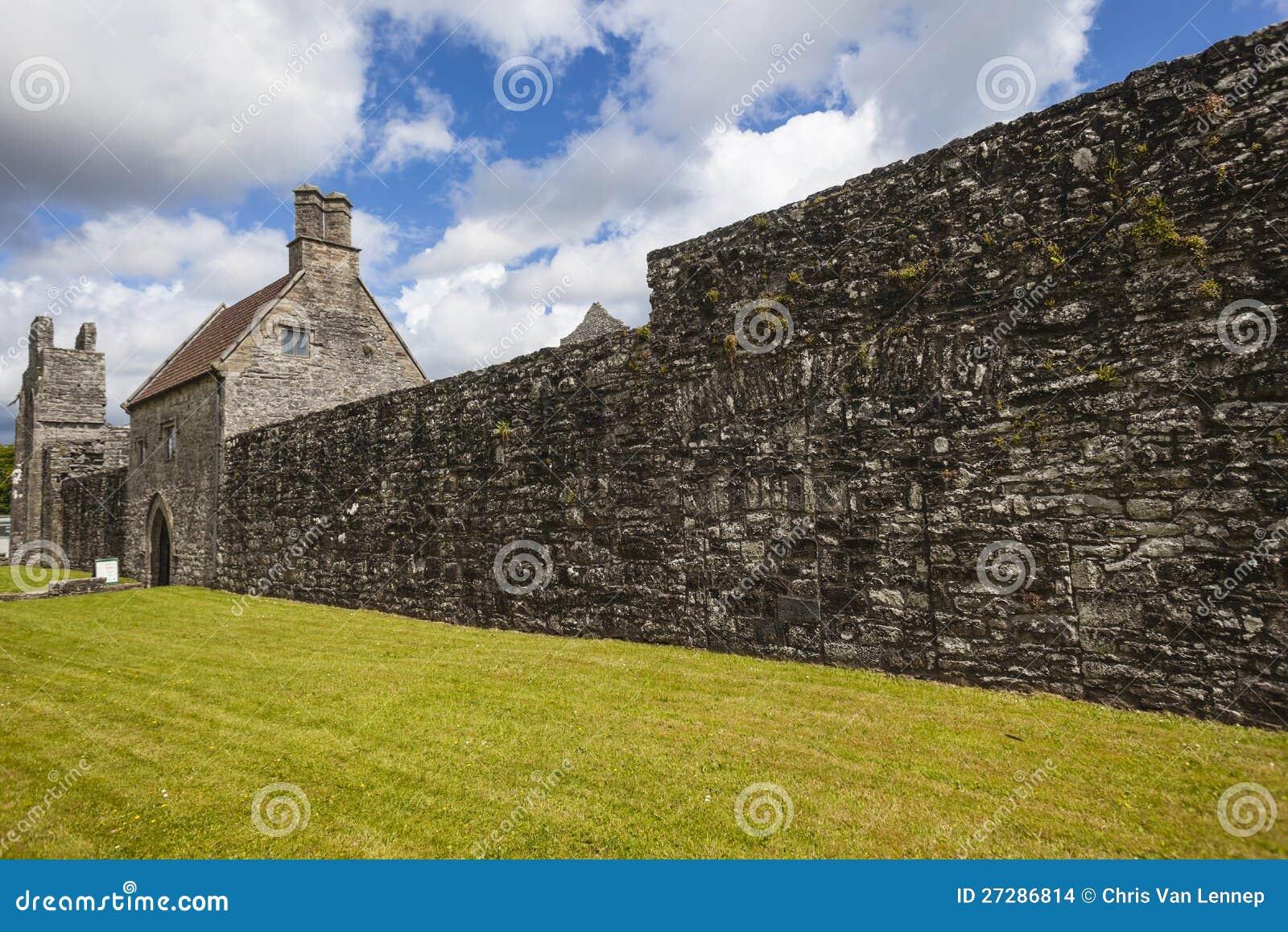 Boyle Abbeyvägg Irland