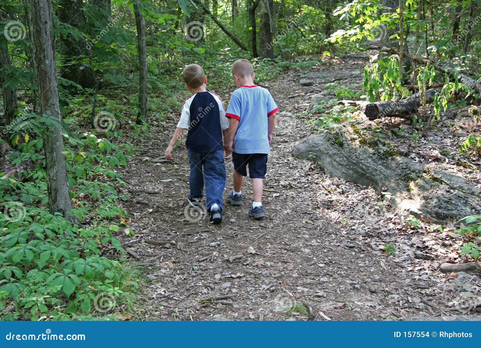 Boys Being Friends