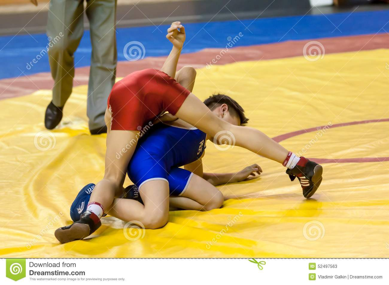 Wrestling world championships amateur