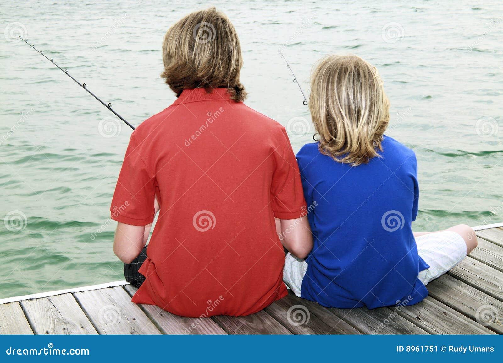 Boys Fishing 3