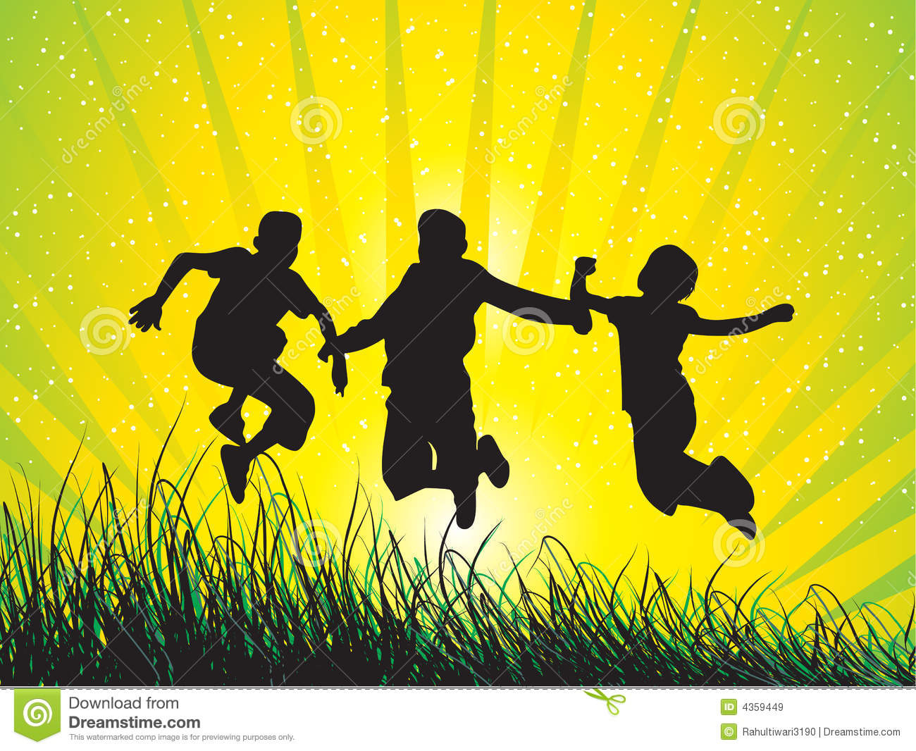 boys jumping with joy stock vector image of celebrate