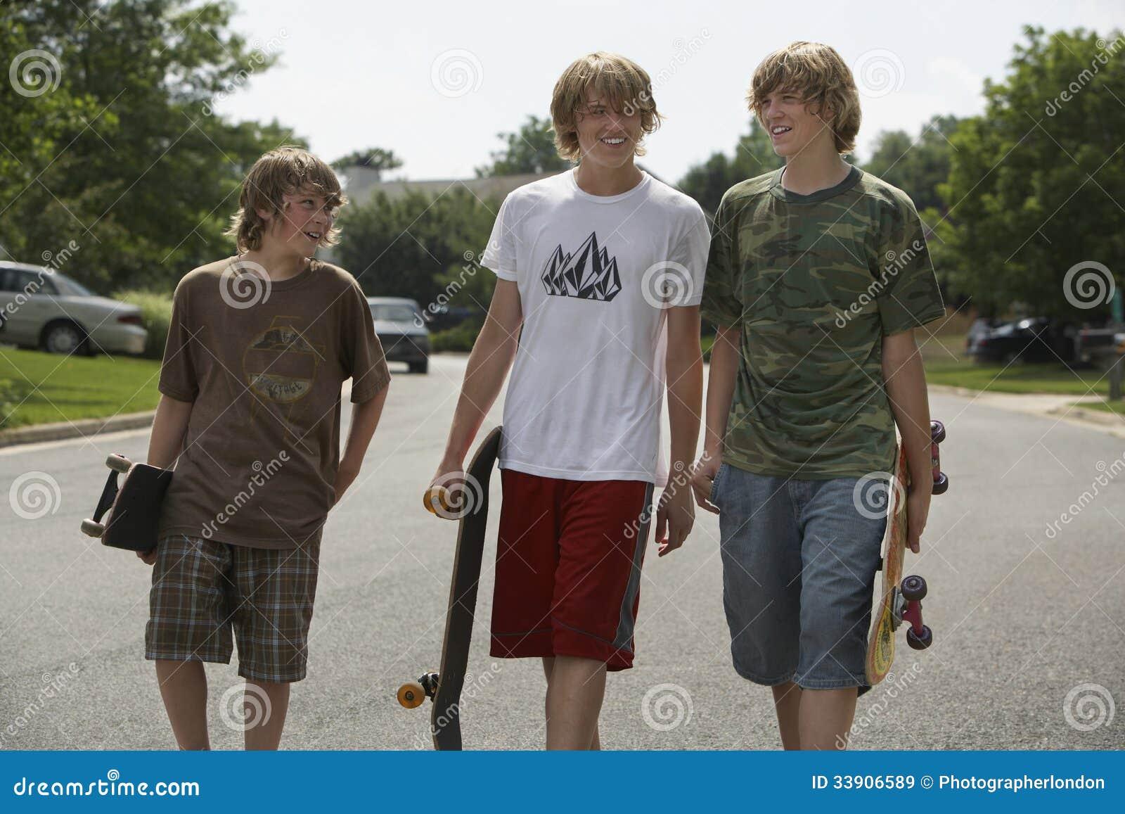 boys in street
