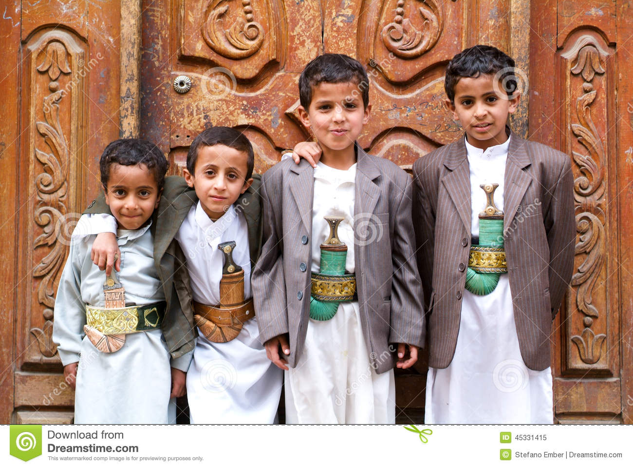 Yemen traditional clothing