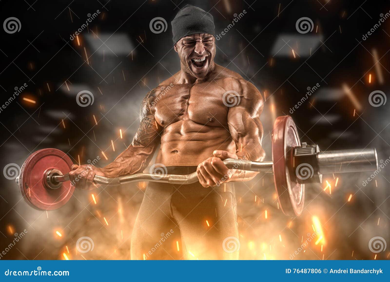 Boze atletentreinen in de gymnastiek
