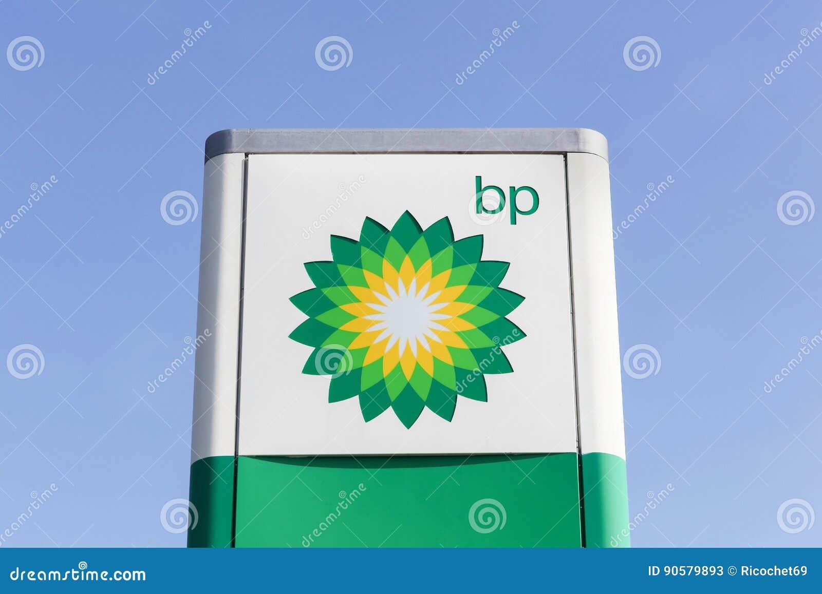 Bp Logo On A Panel Editorial Stock Photo Image Of British 90579893