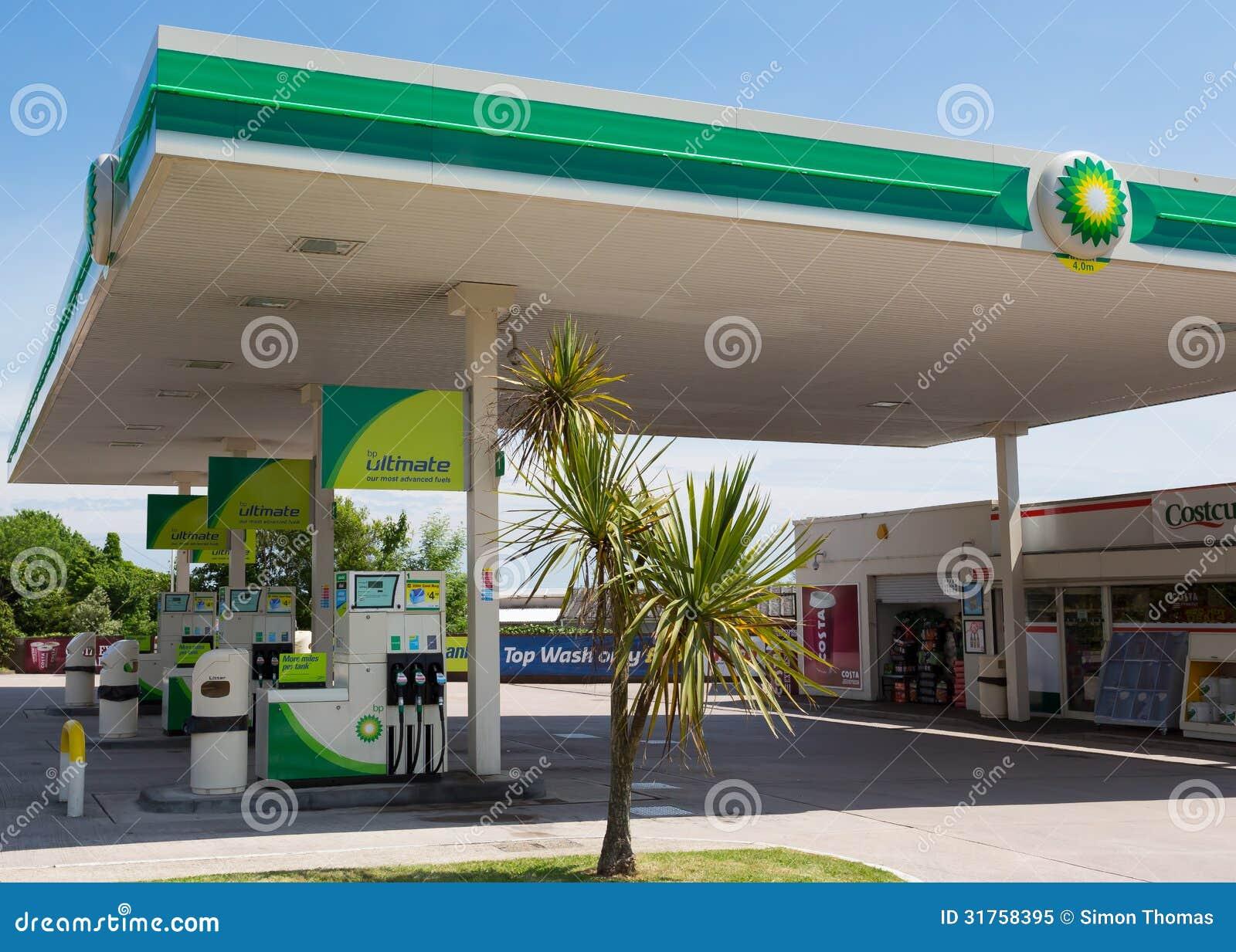 BP Petrol Station editorial image  Image of salcombe - 31758395