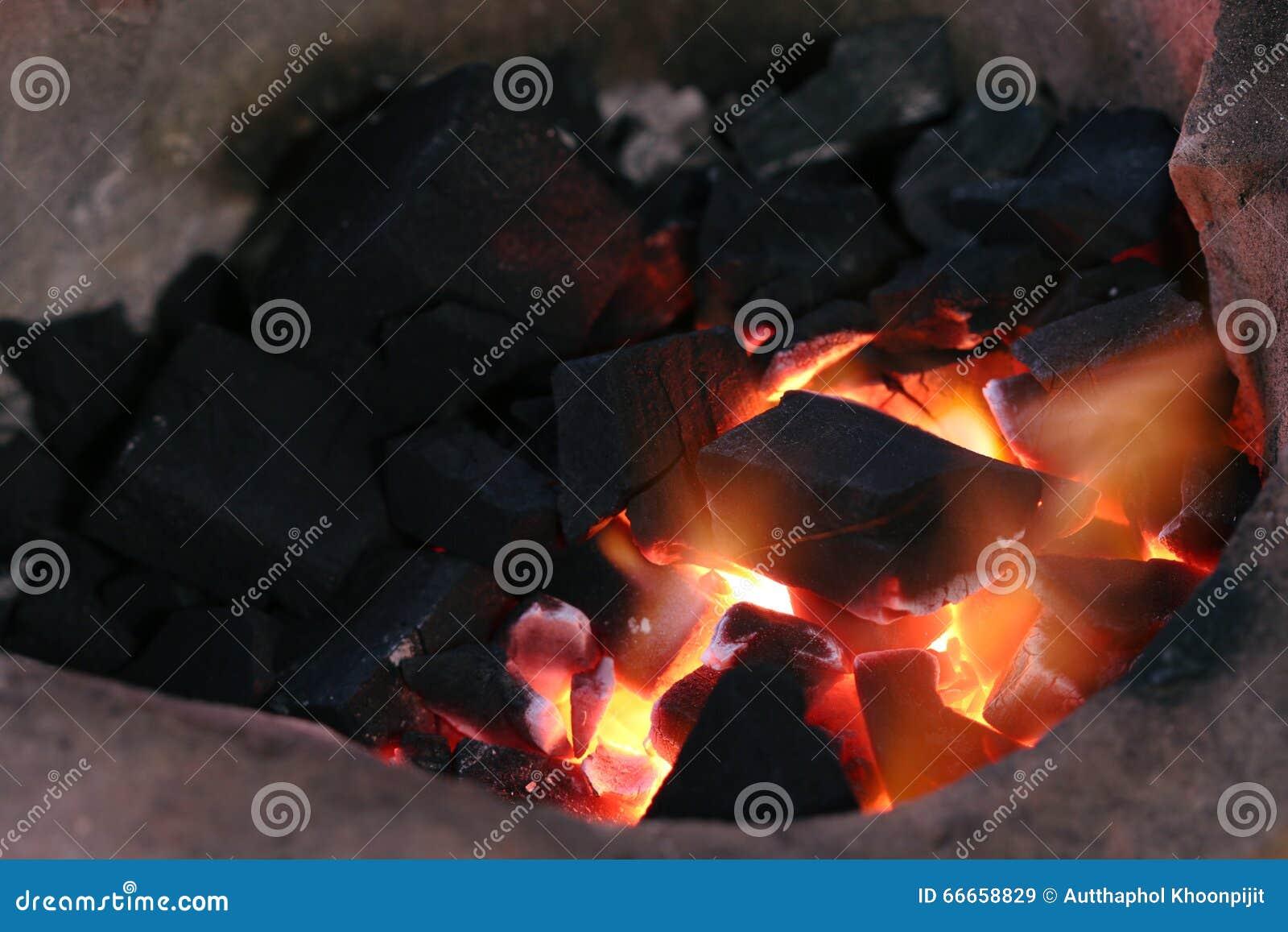 Bränna av kol