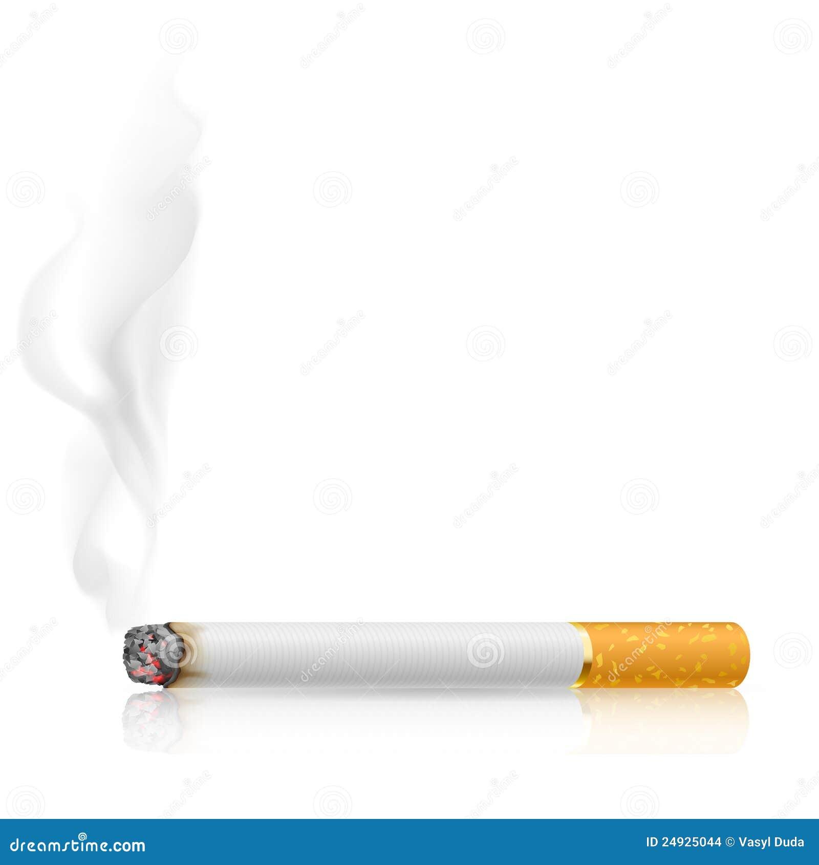Bränner cigaretten