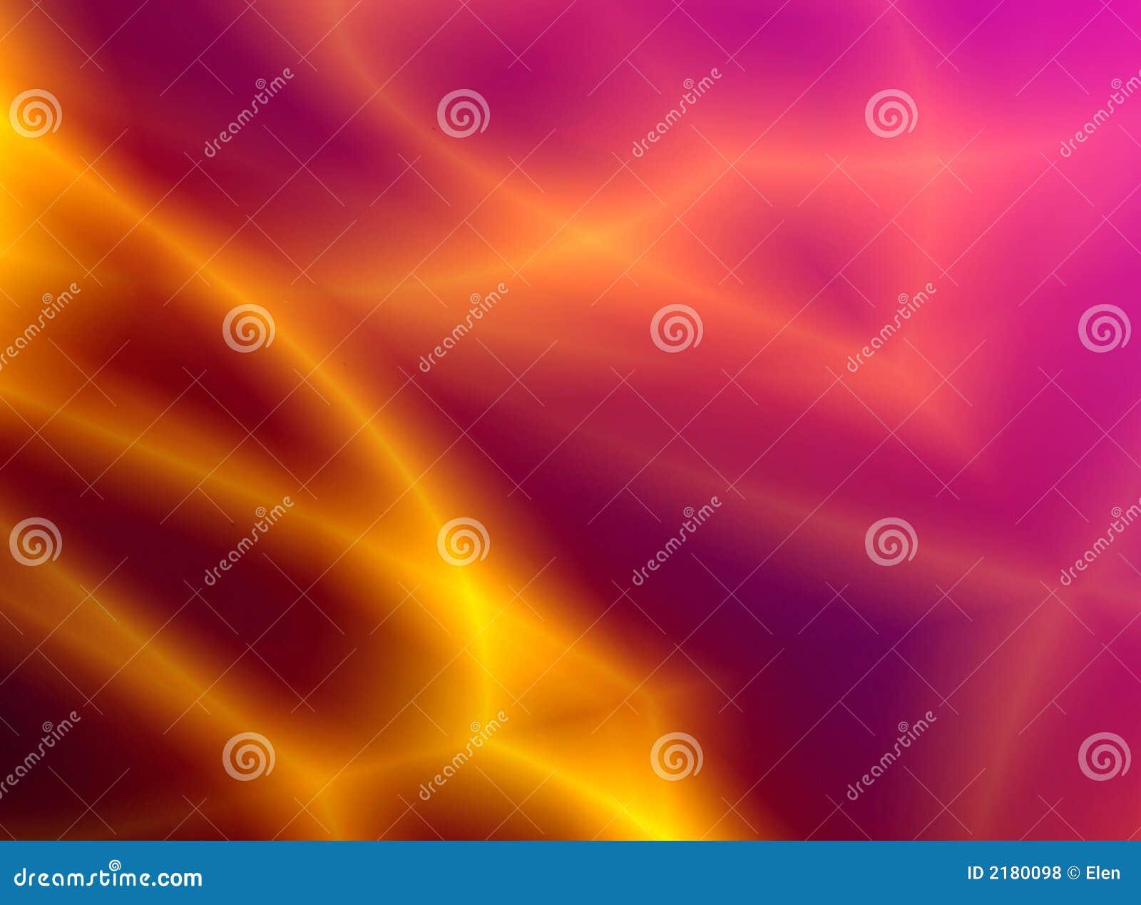 Brännhet abstraktionbakgrund