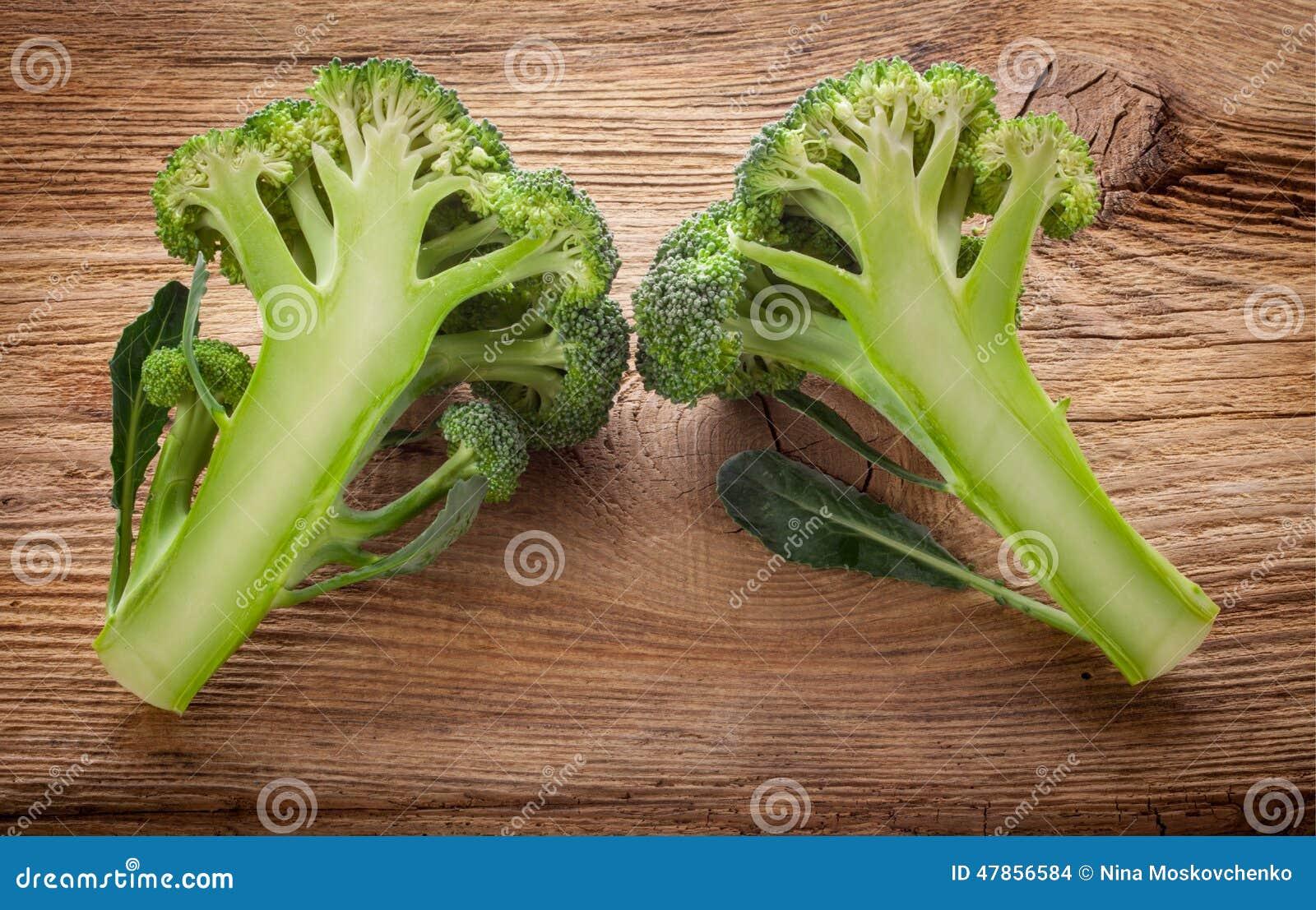 Bróculos frescos