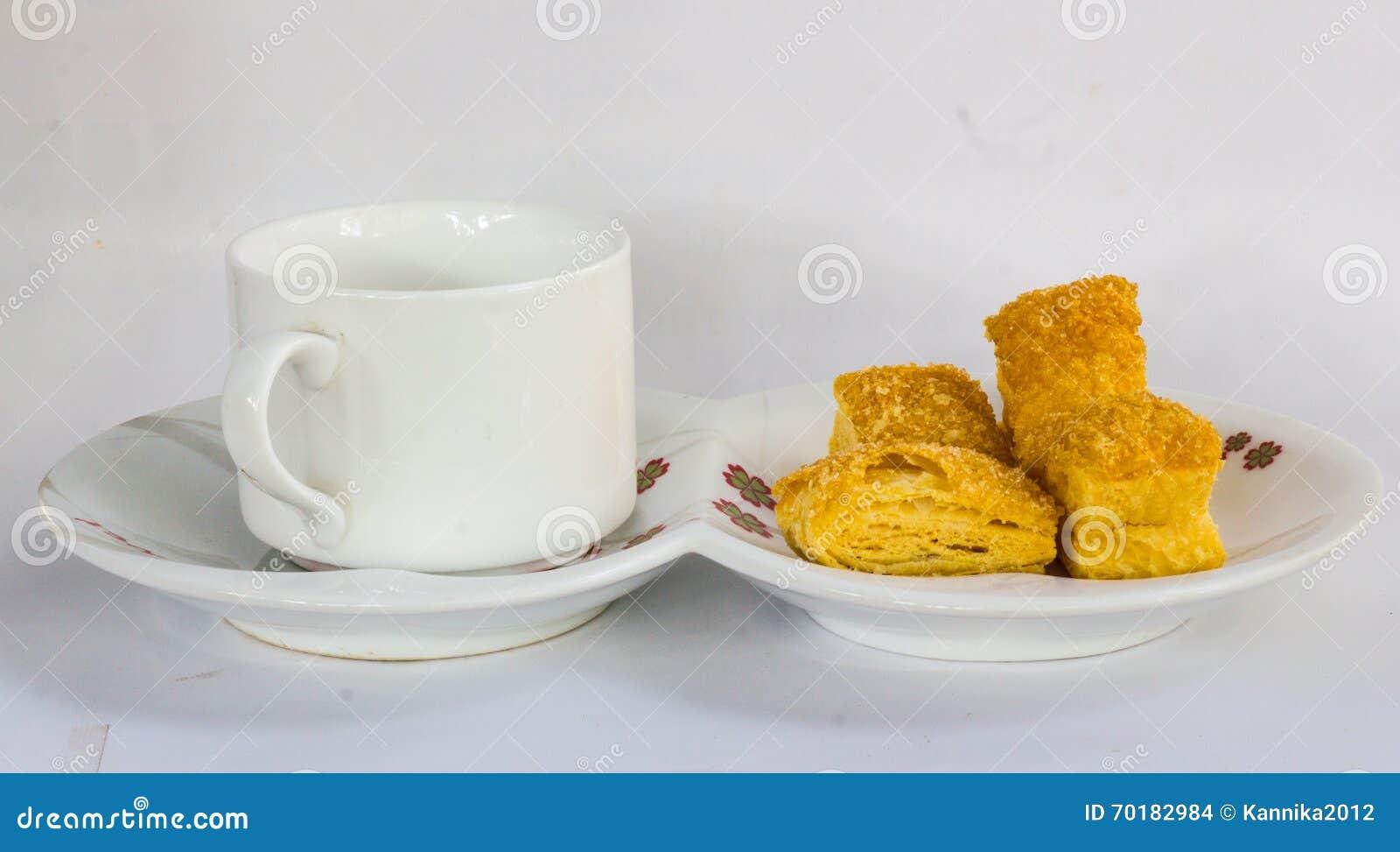 Bröd är frukosten in i morse