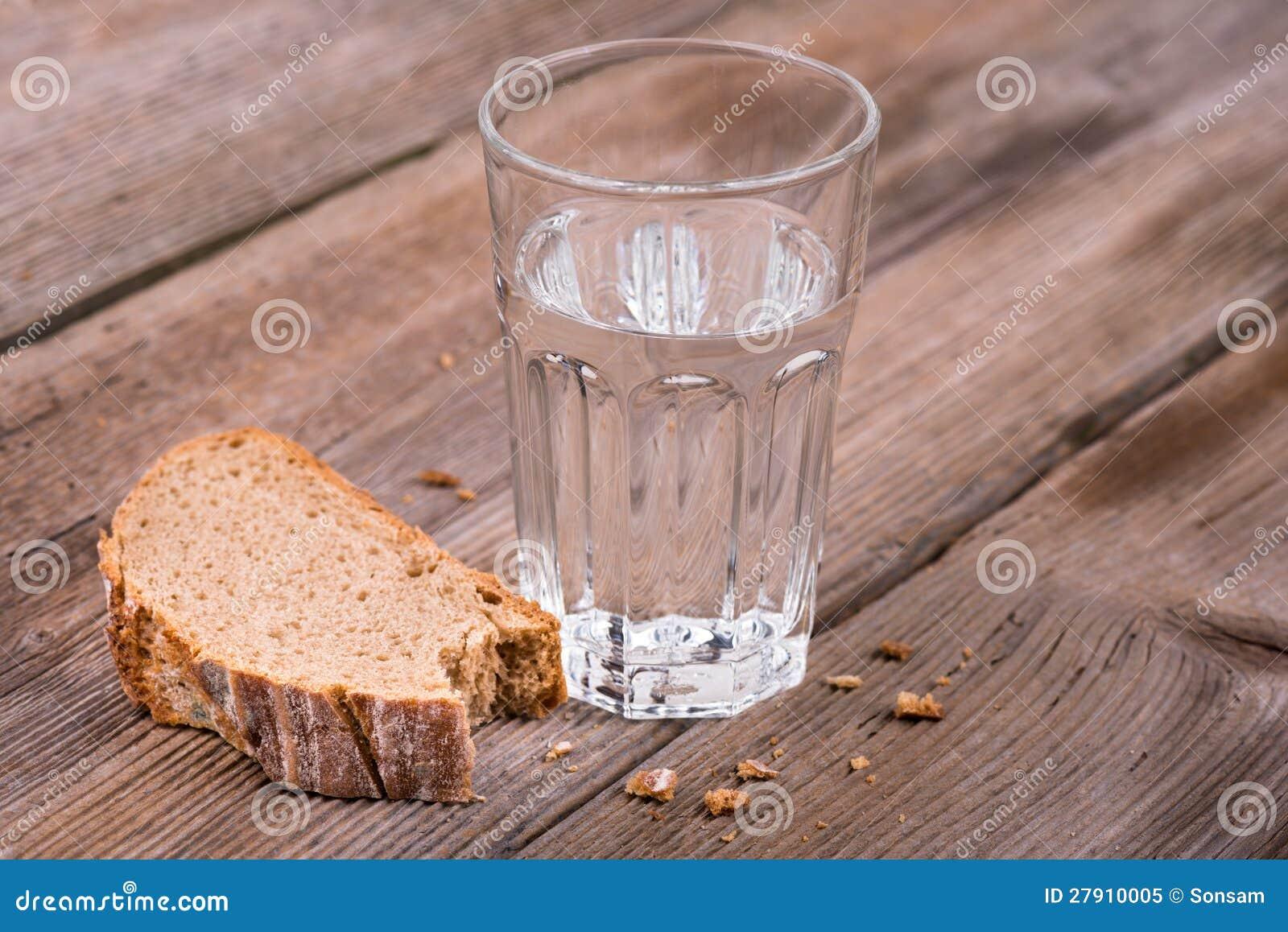 bröd och vatten