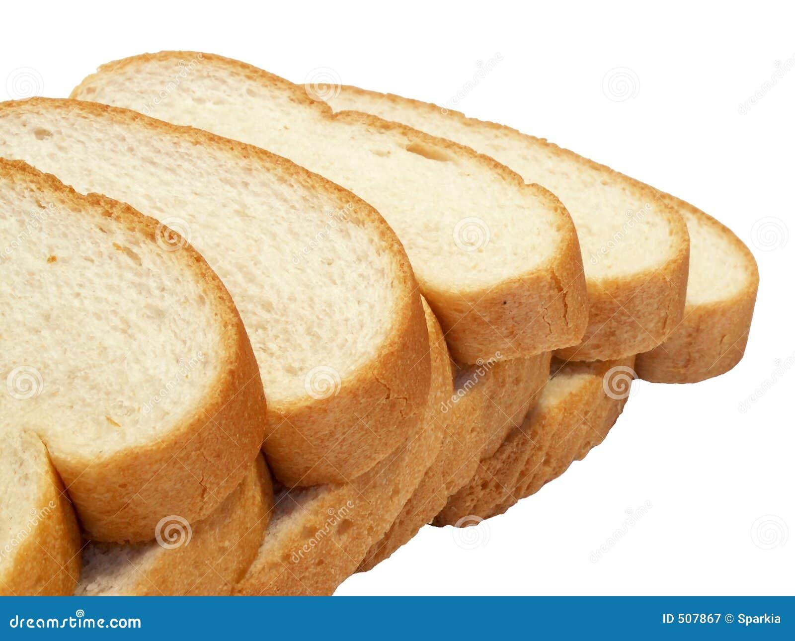 Bröd skivar white
