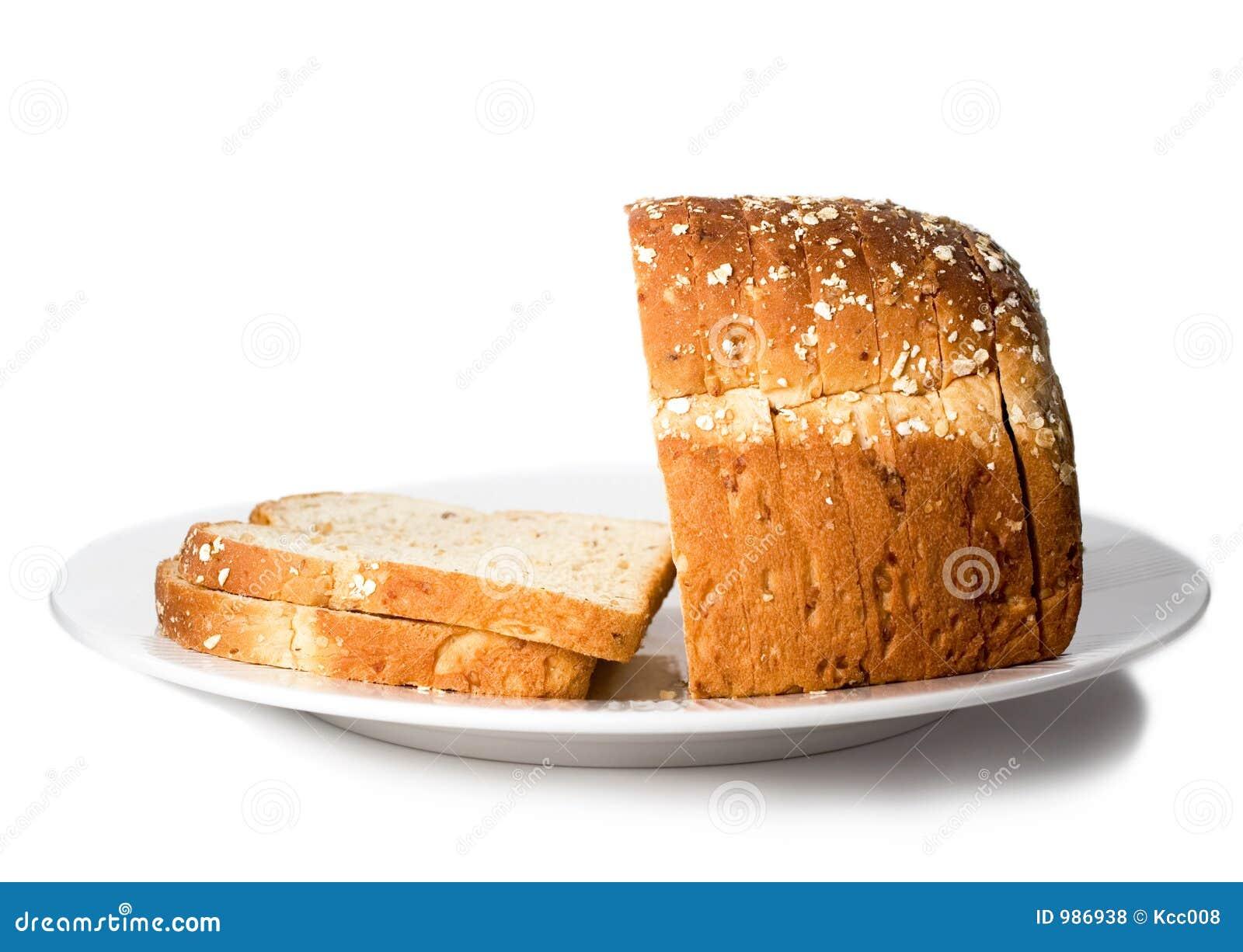 Bröd släntrar den skivade plattan