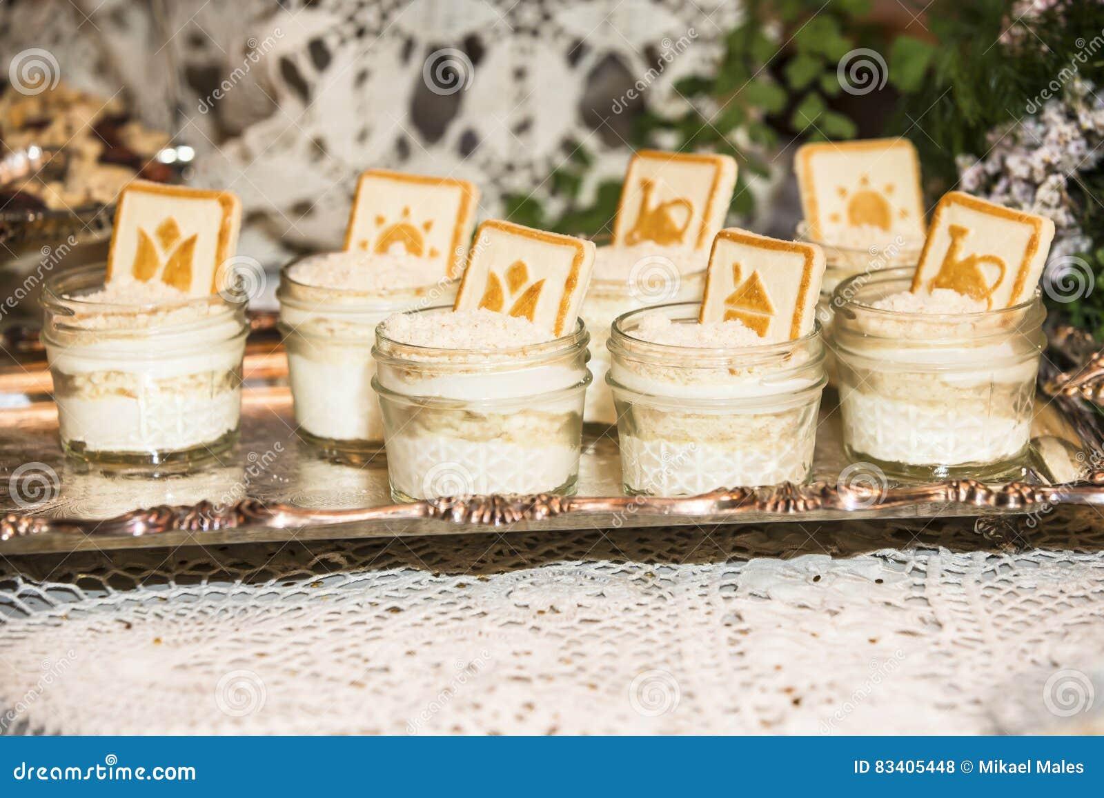 Bröllop dekorerade öknar