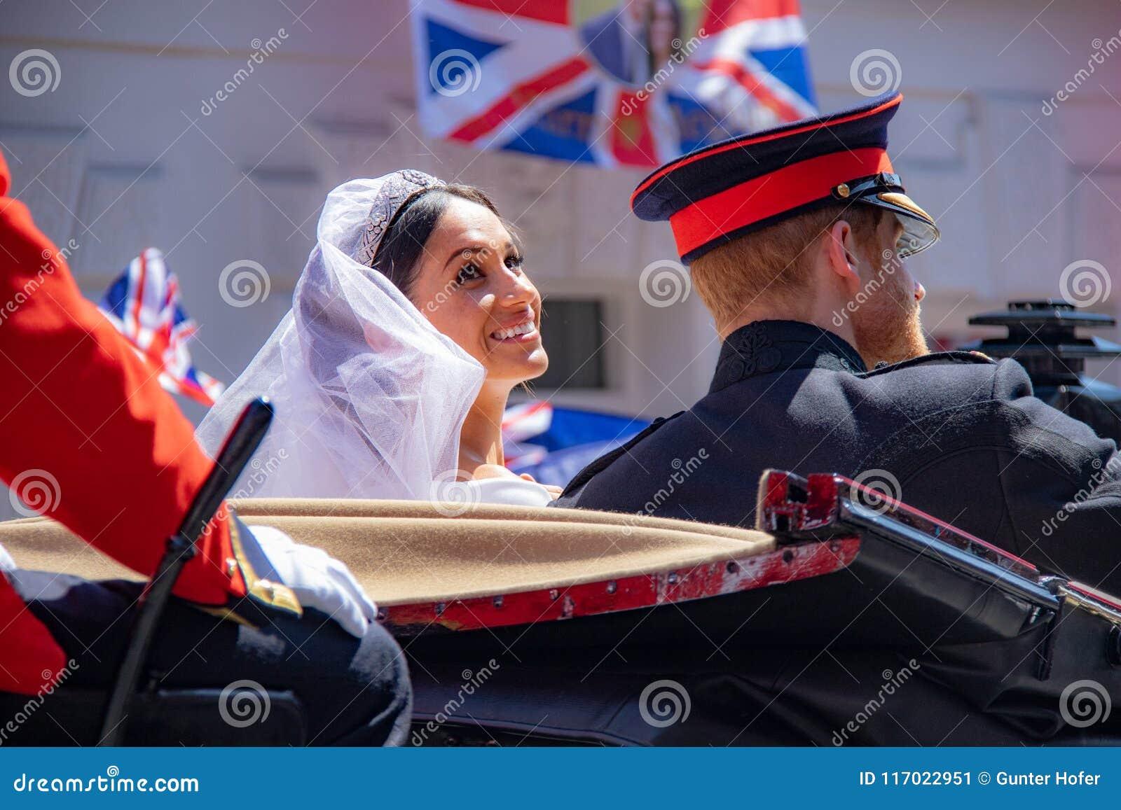Bröllop för prins Harry och Meghan Markle