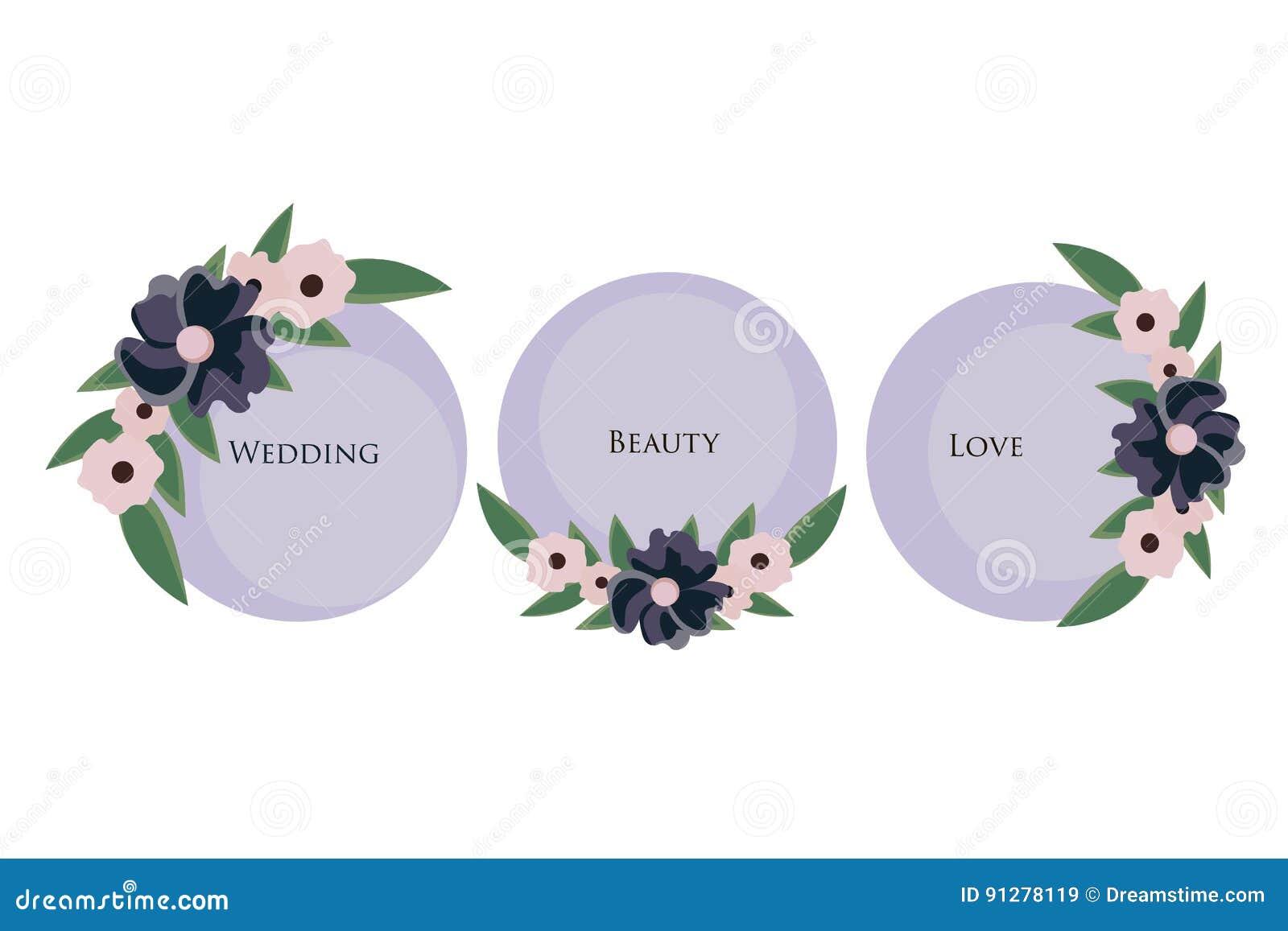 Bröllopinbjudanprydnad