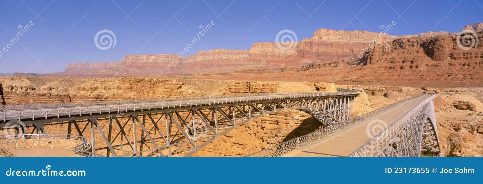 Brücke über dem Kolorado-Fluss