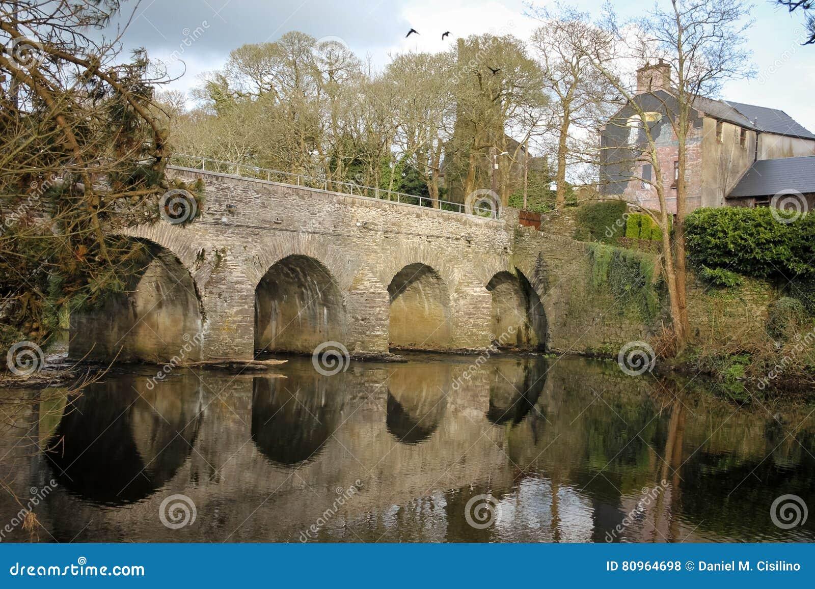 Brücke über dem Sullane Macroom irland