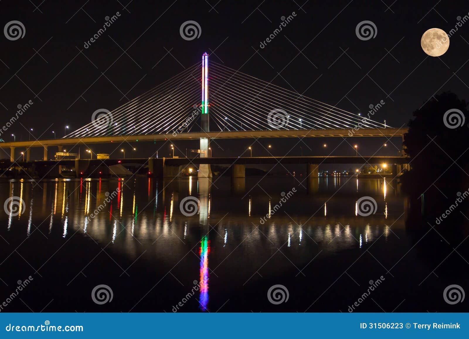 Brücke u. Mond