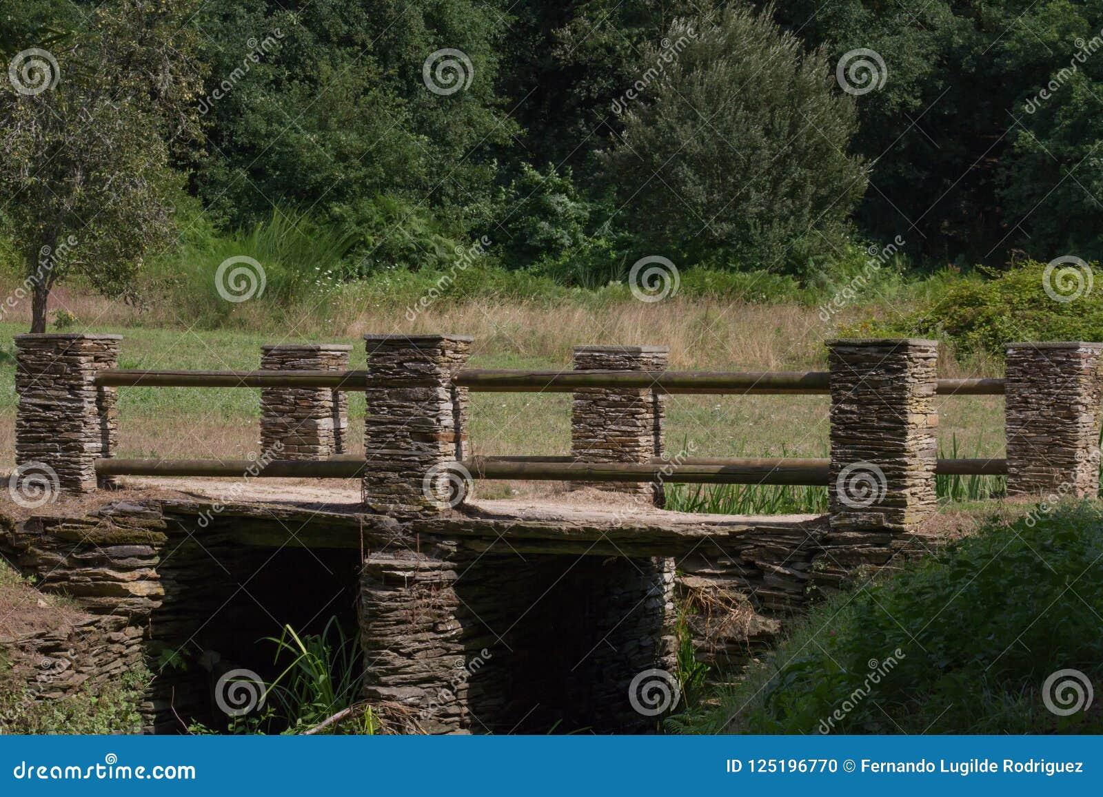 Brücke zum Berg