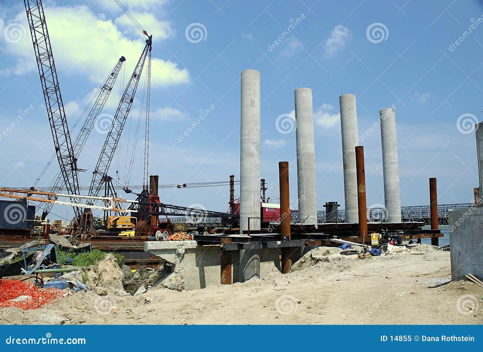 Brücken-Aufbau