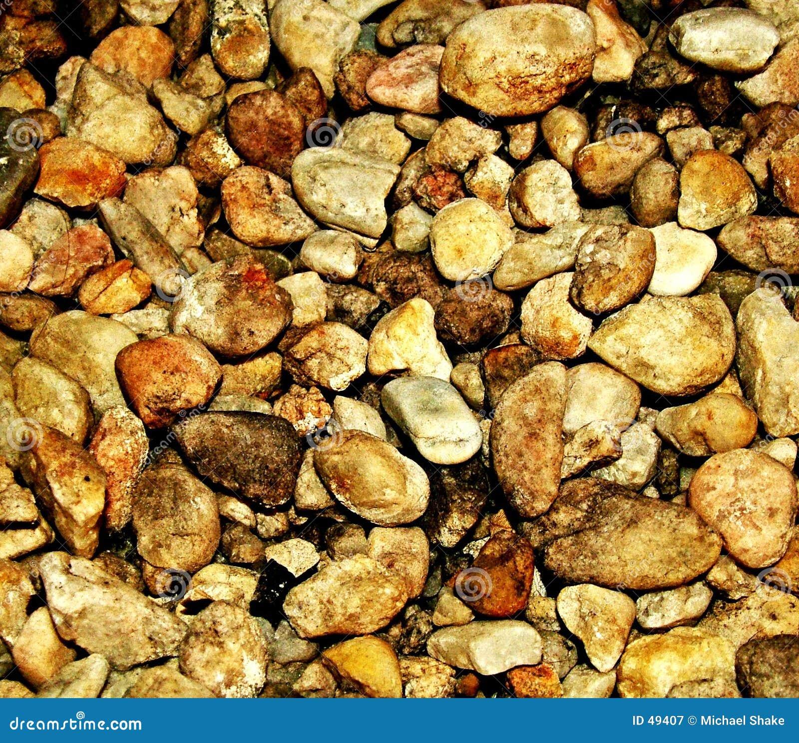 Brązowe kamienie
