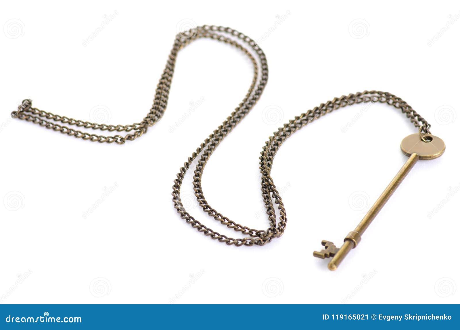 Brązowy kluczowy metal