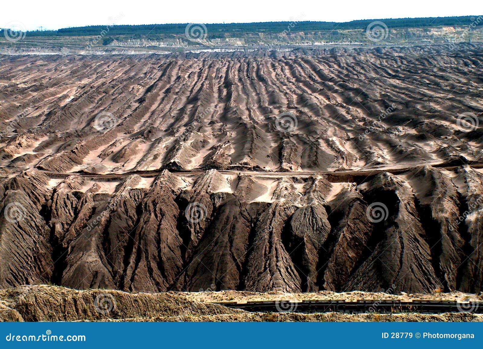 Brązowy kopalni