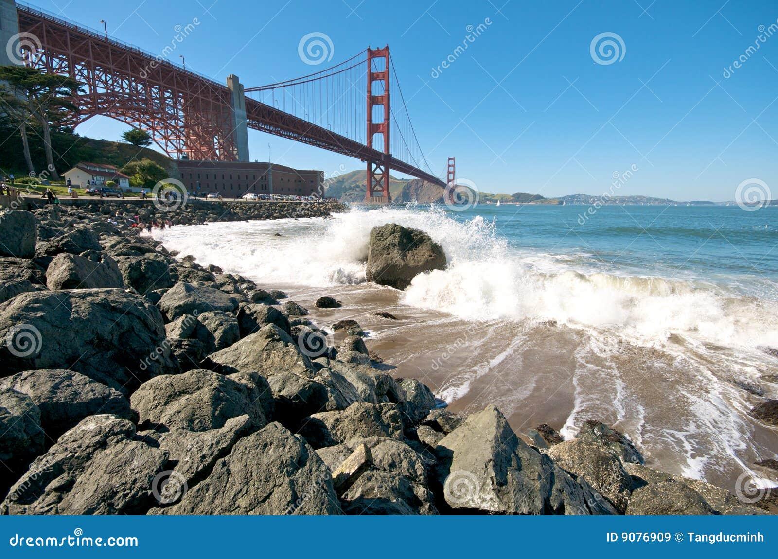 Br5ucke-Strand in San Francisco
