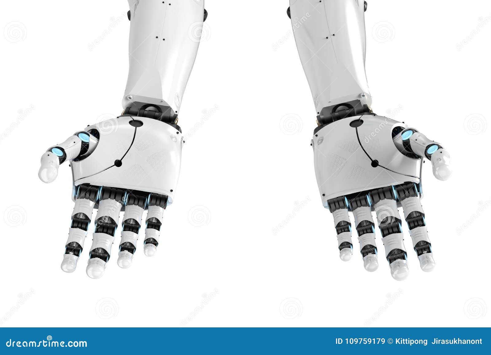 Braço do Cyborg isolado