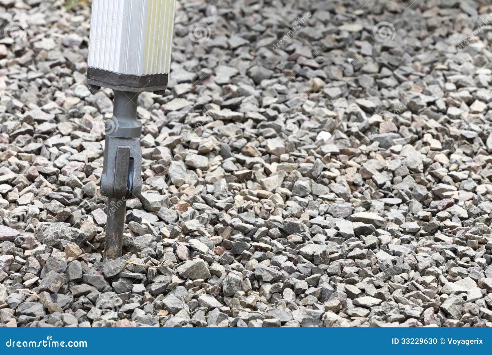 Braço Hidráulico Da Broca Pneumática Do Jackhammer Foto de Stock  #82A328 1300x957