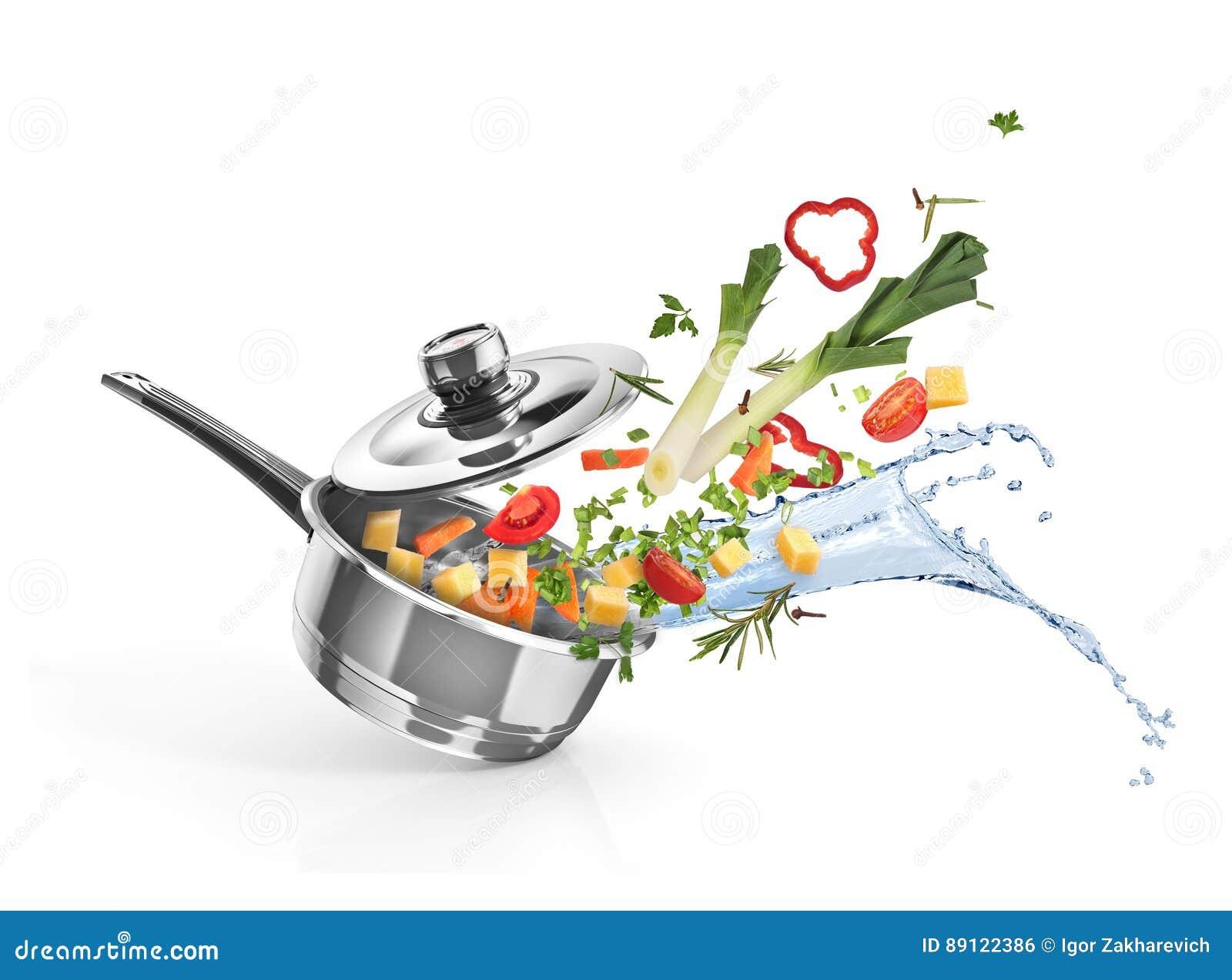 Braadpan met groenten