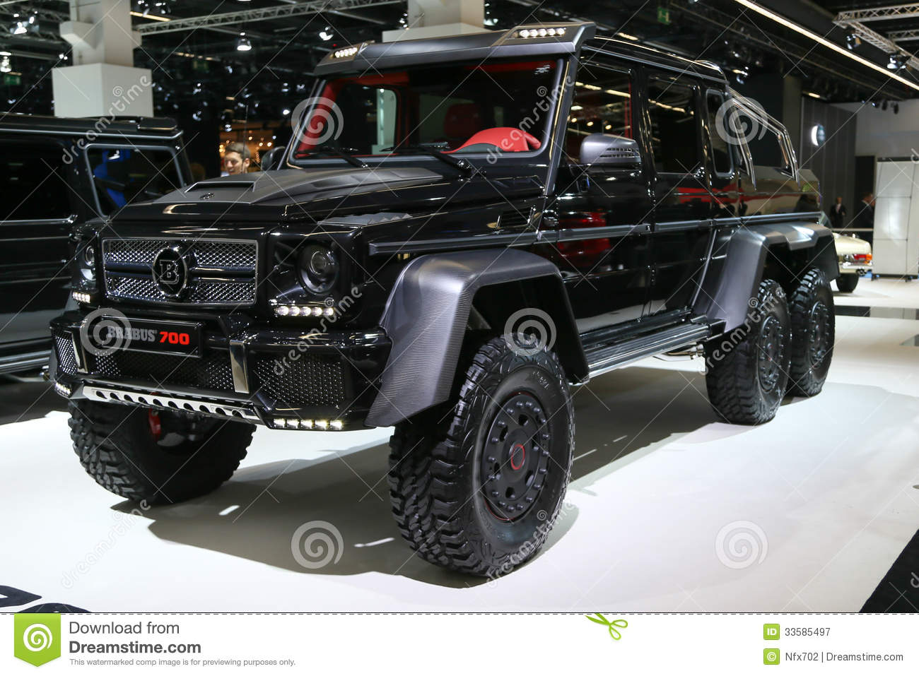 brabus b63s 6x6 mercedes g 63 amg editorial photography image 33585497. Black Bedroom Furniture Sets. Home Design Ideas