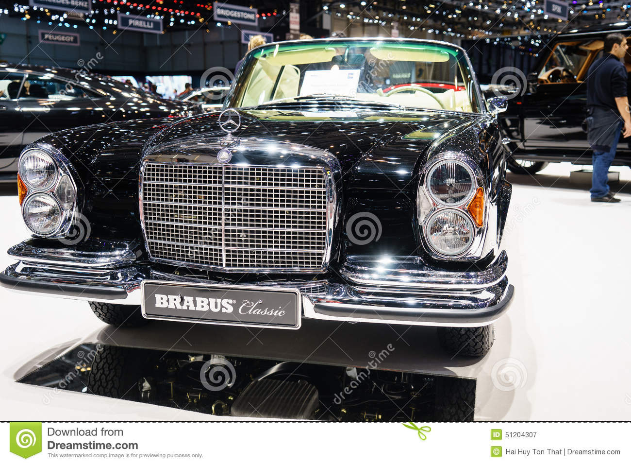 Brabus classic 39 s motor show geneve 2015 editorial for Mercedes benz us international