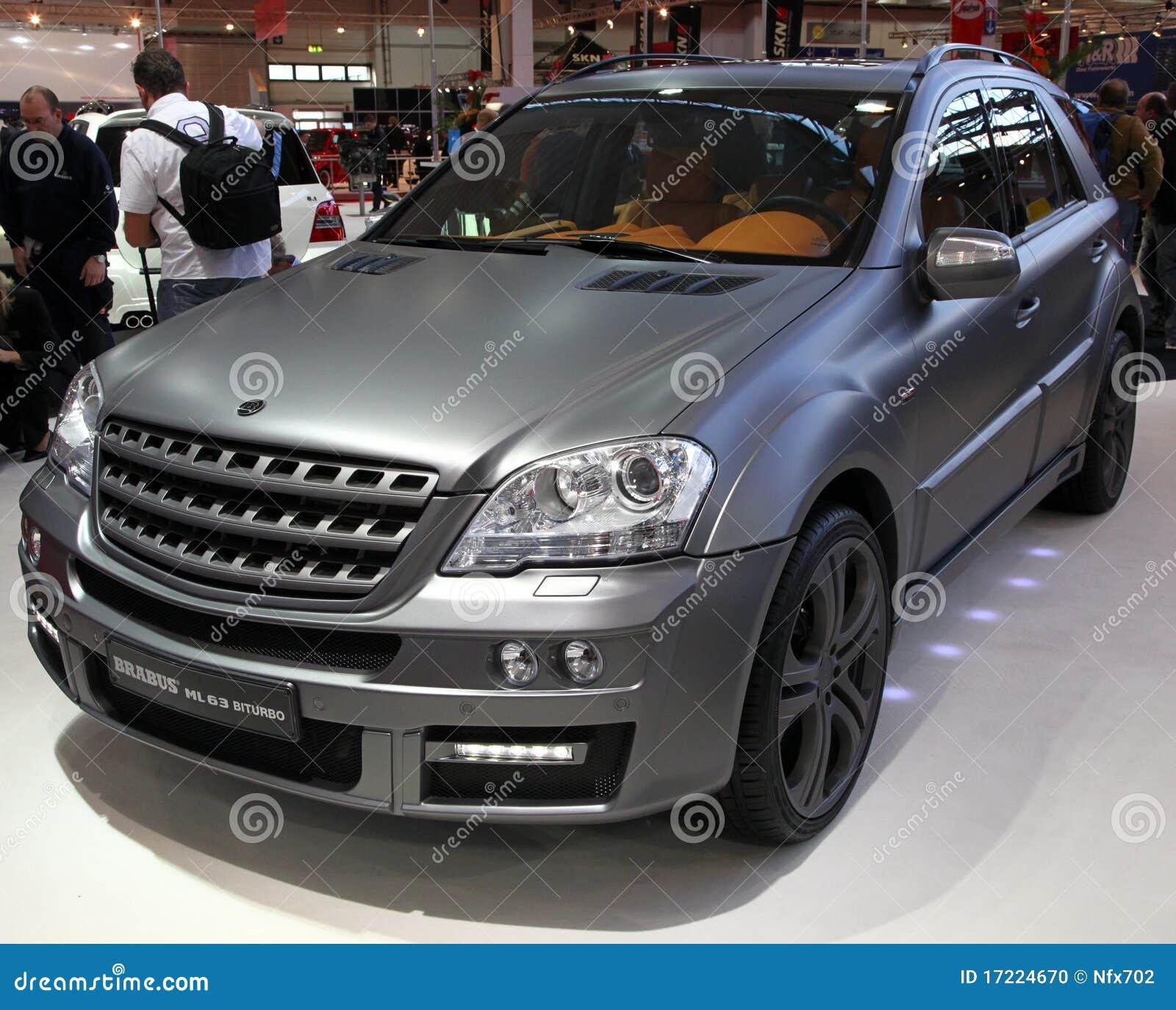 Mercedes benz 280sl car vehicl wrap mercedes benz merced pagoda - Brabus Ml 63 Biturbo Based On Merced Benz Ml Cla Stock Photo
