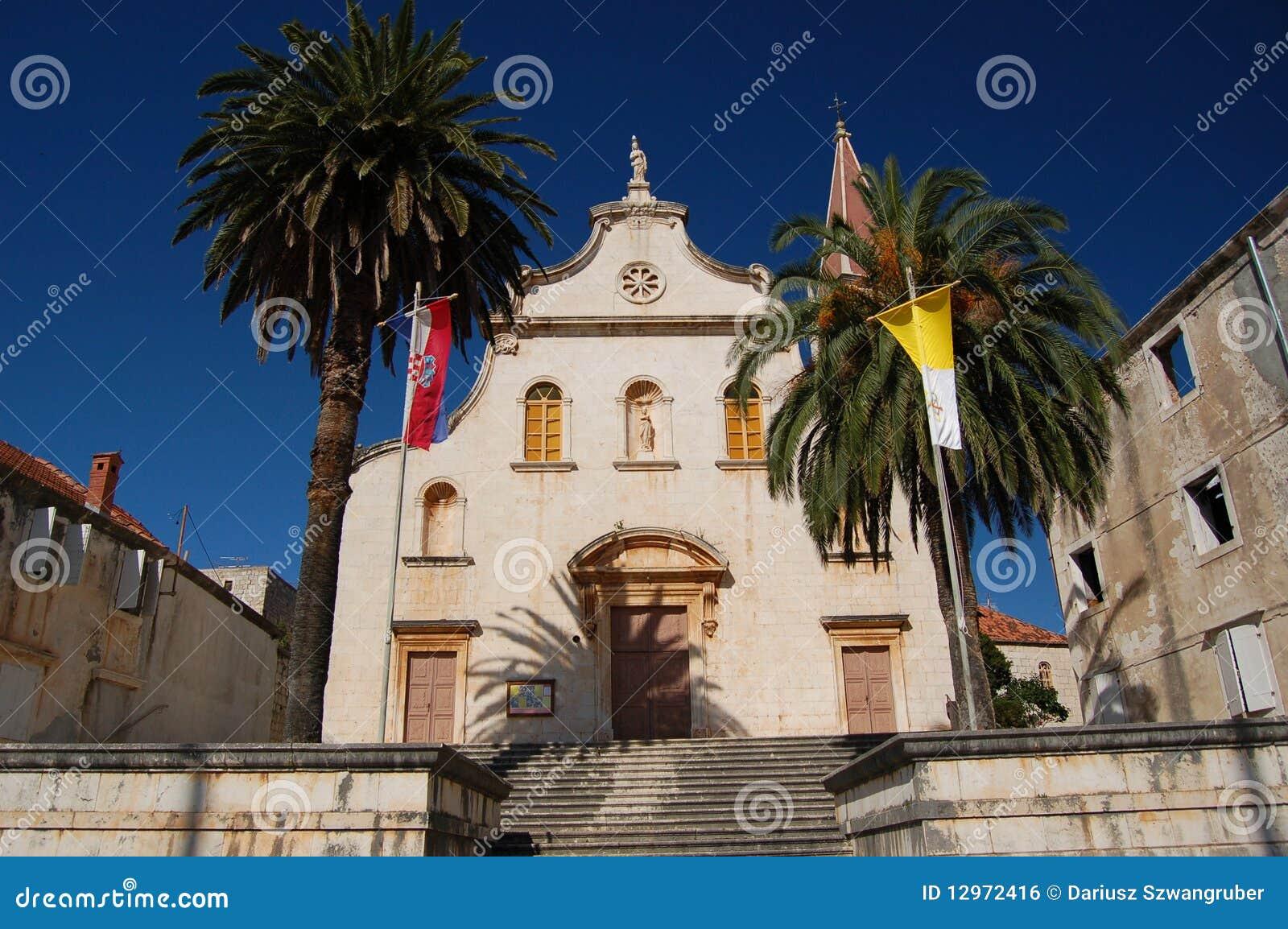 Brac milna νησιών εκκλησιών