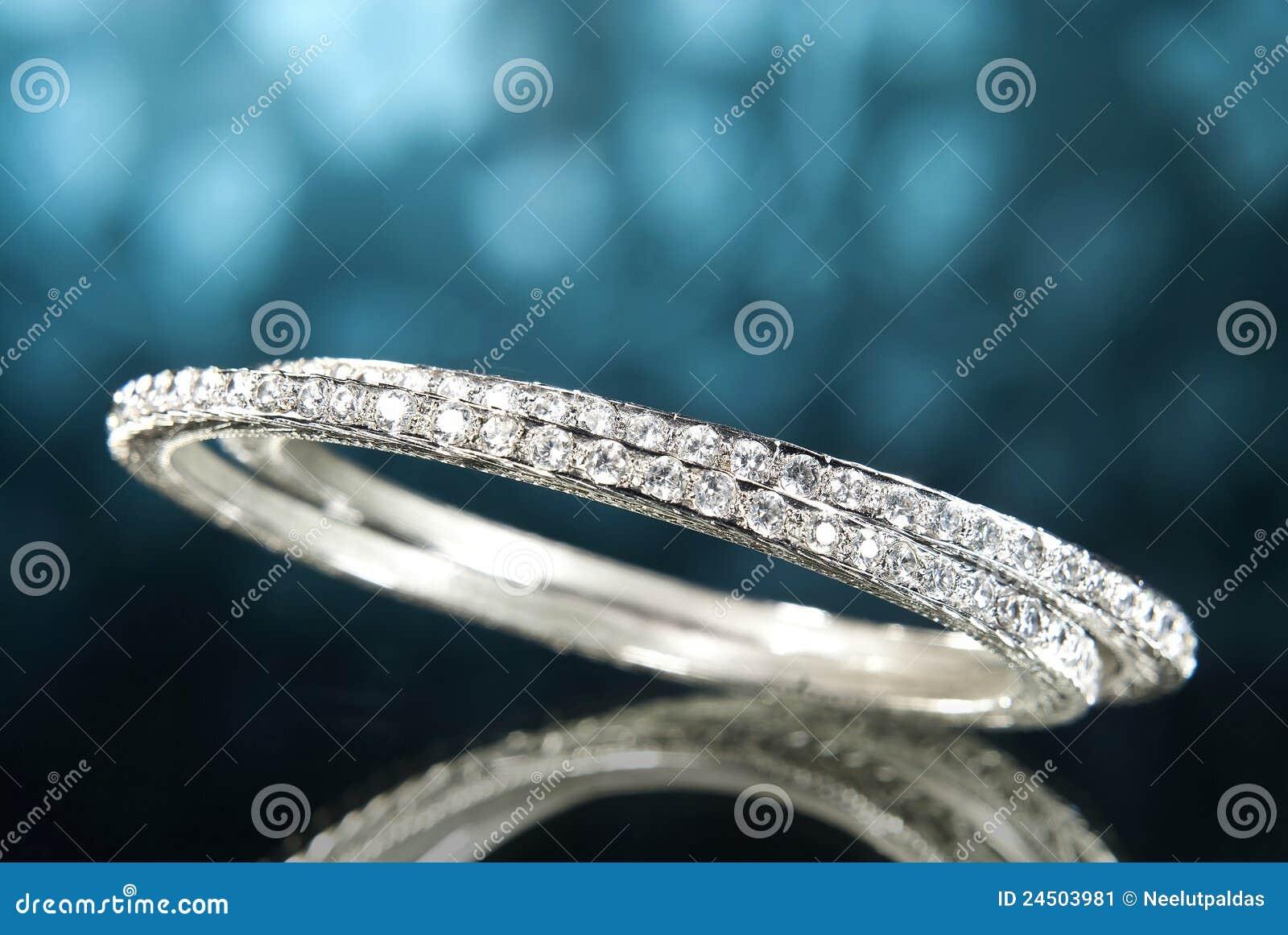 Braccialetti del diamante del platino